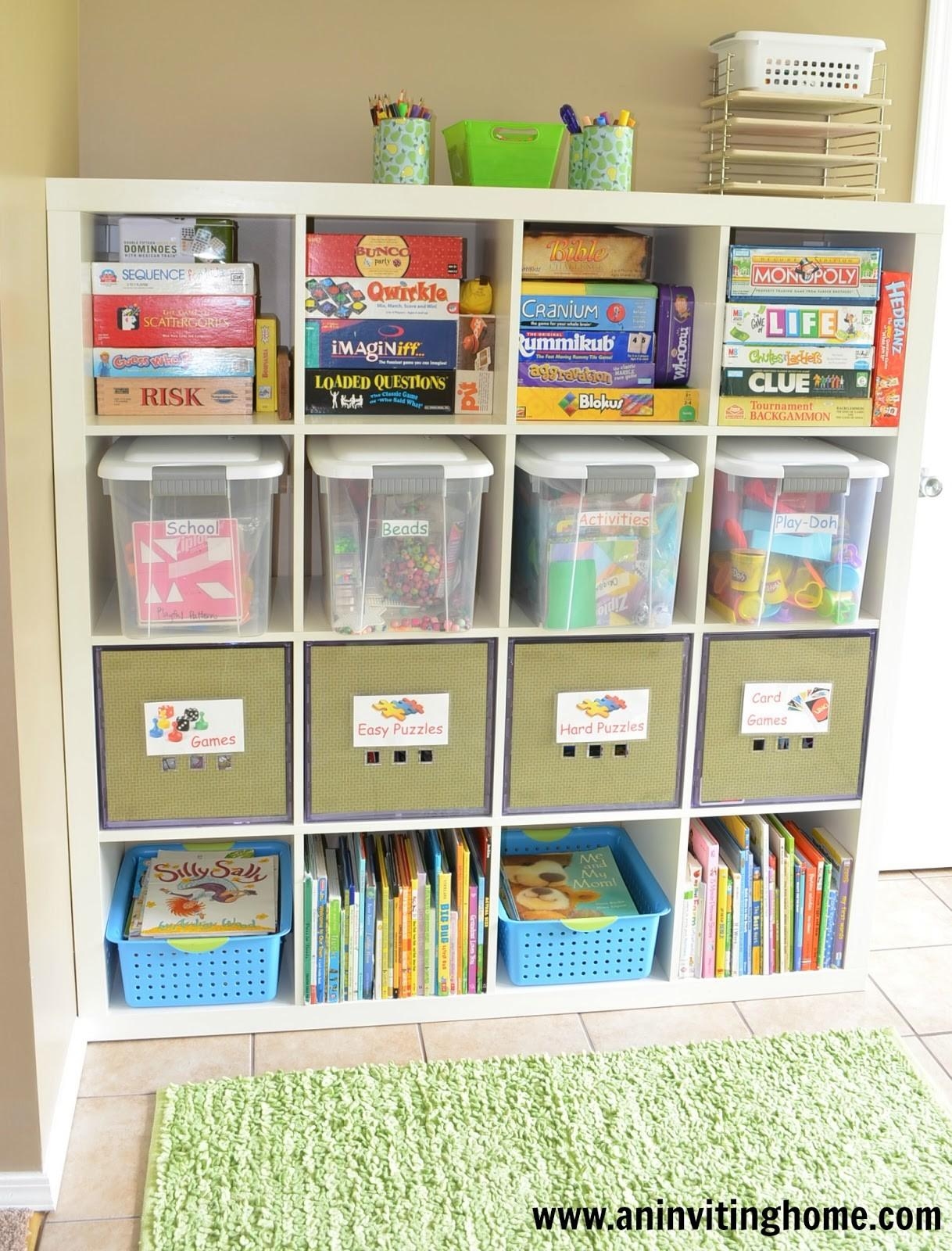 Inviting Home Tips Organizing Kid Craft Space