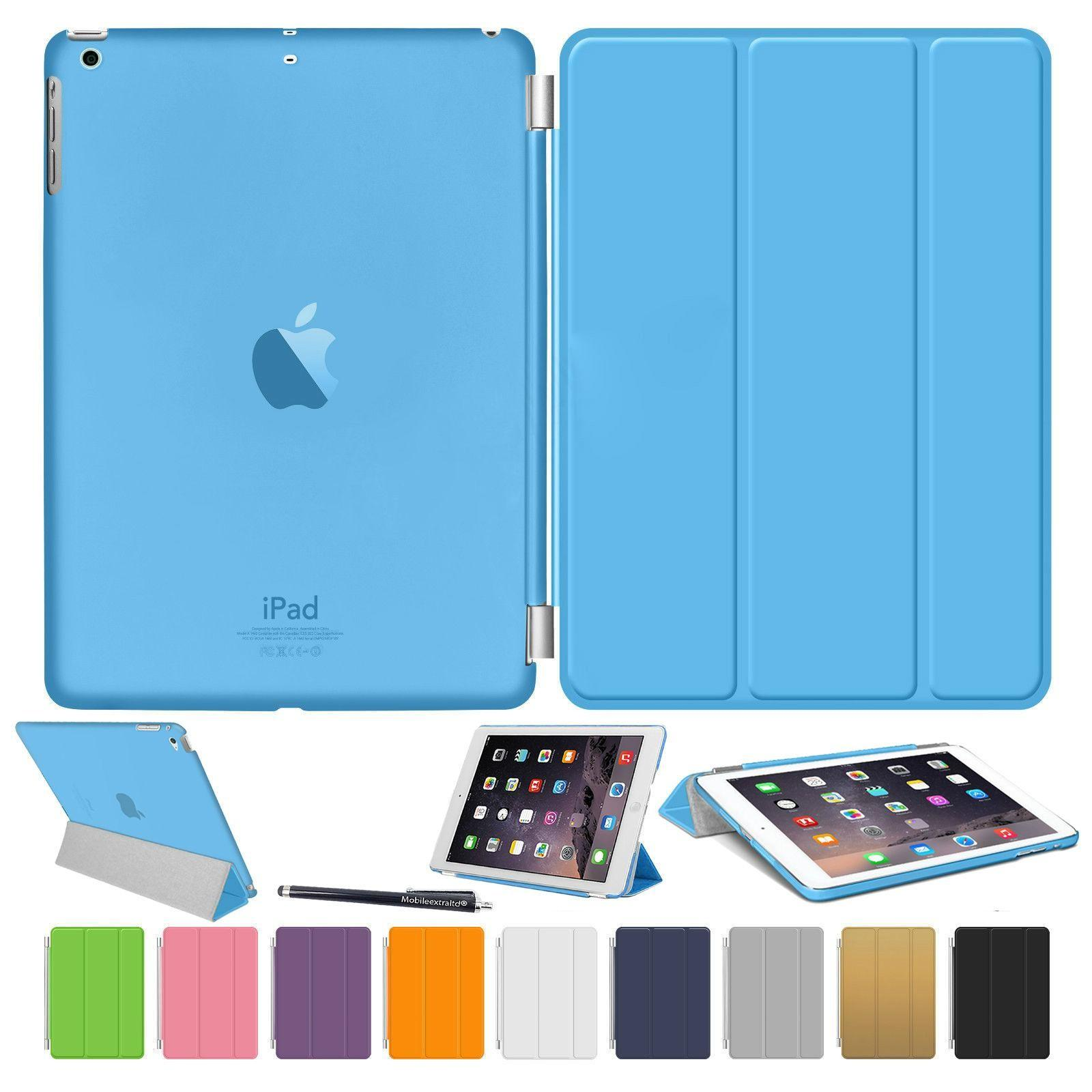 Ipad Air Smart Stand Magnetic Leather Case Ipdar204