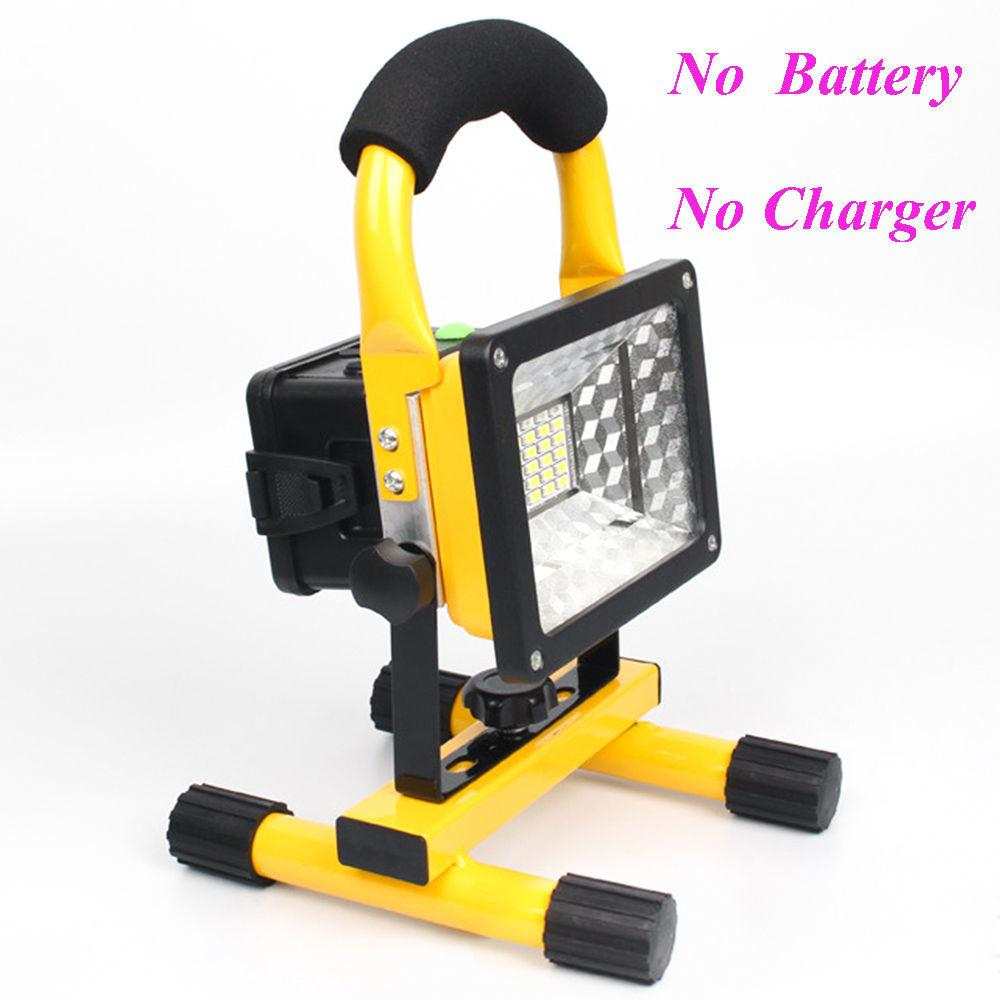 Ipx6 Portable 30w Led Flood Light Outdoor Rechargeable