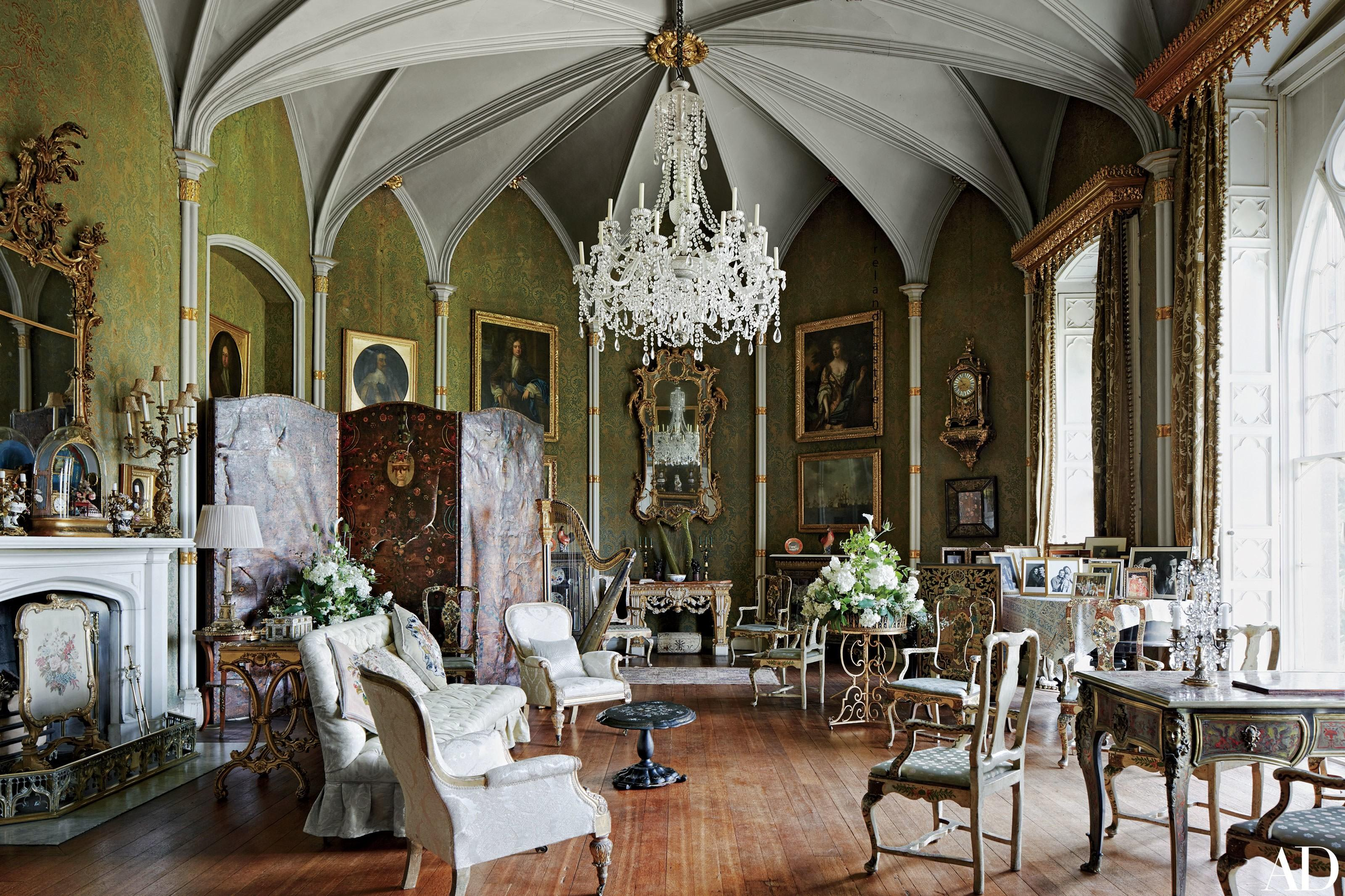 Ireland Historic Birr Castle Receives Chic Makeover