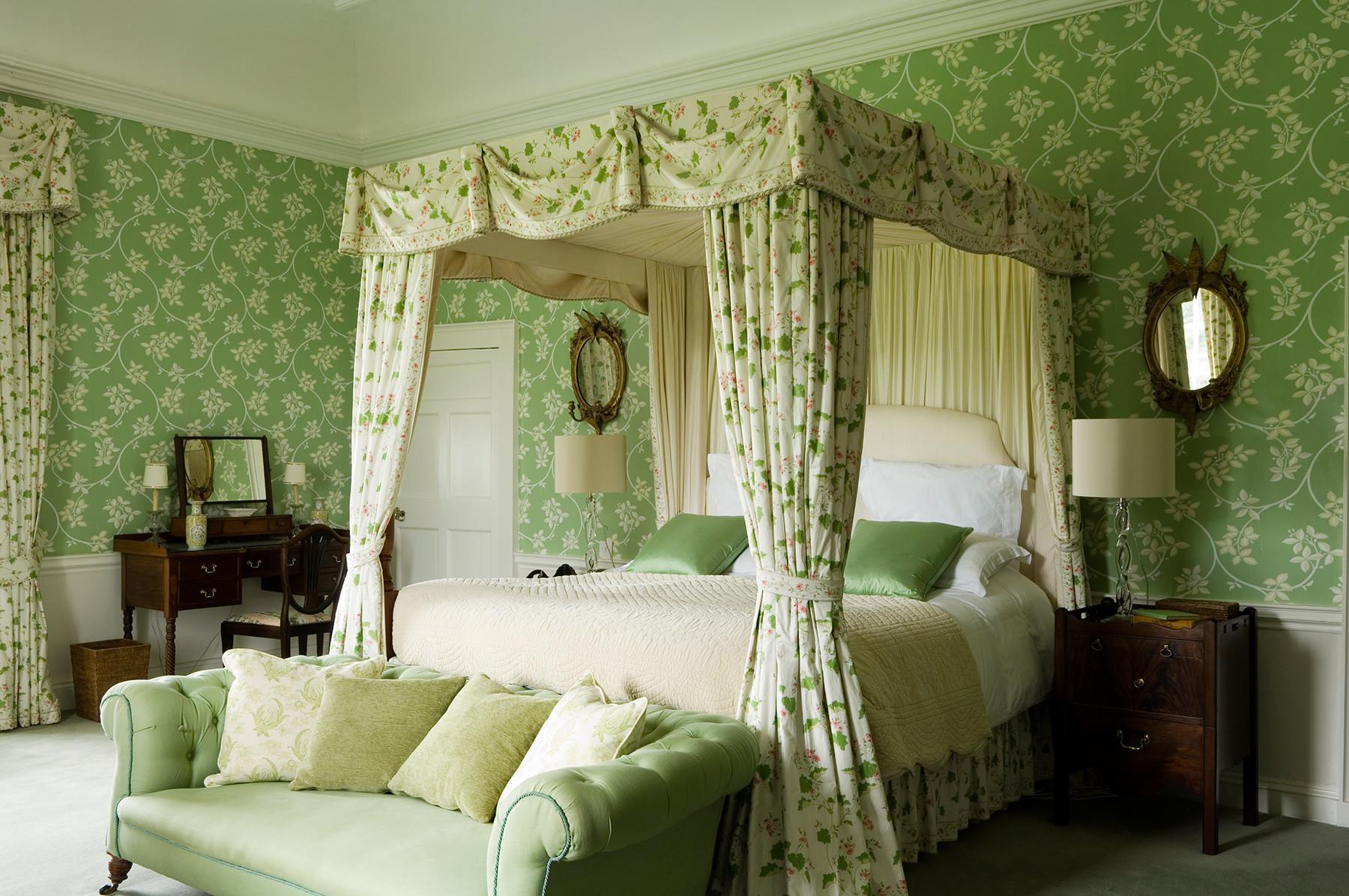 Irish Country Green Bedroom Interiors Color Idolza