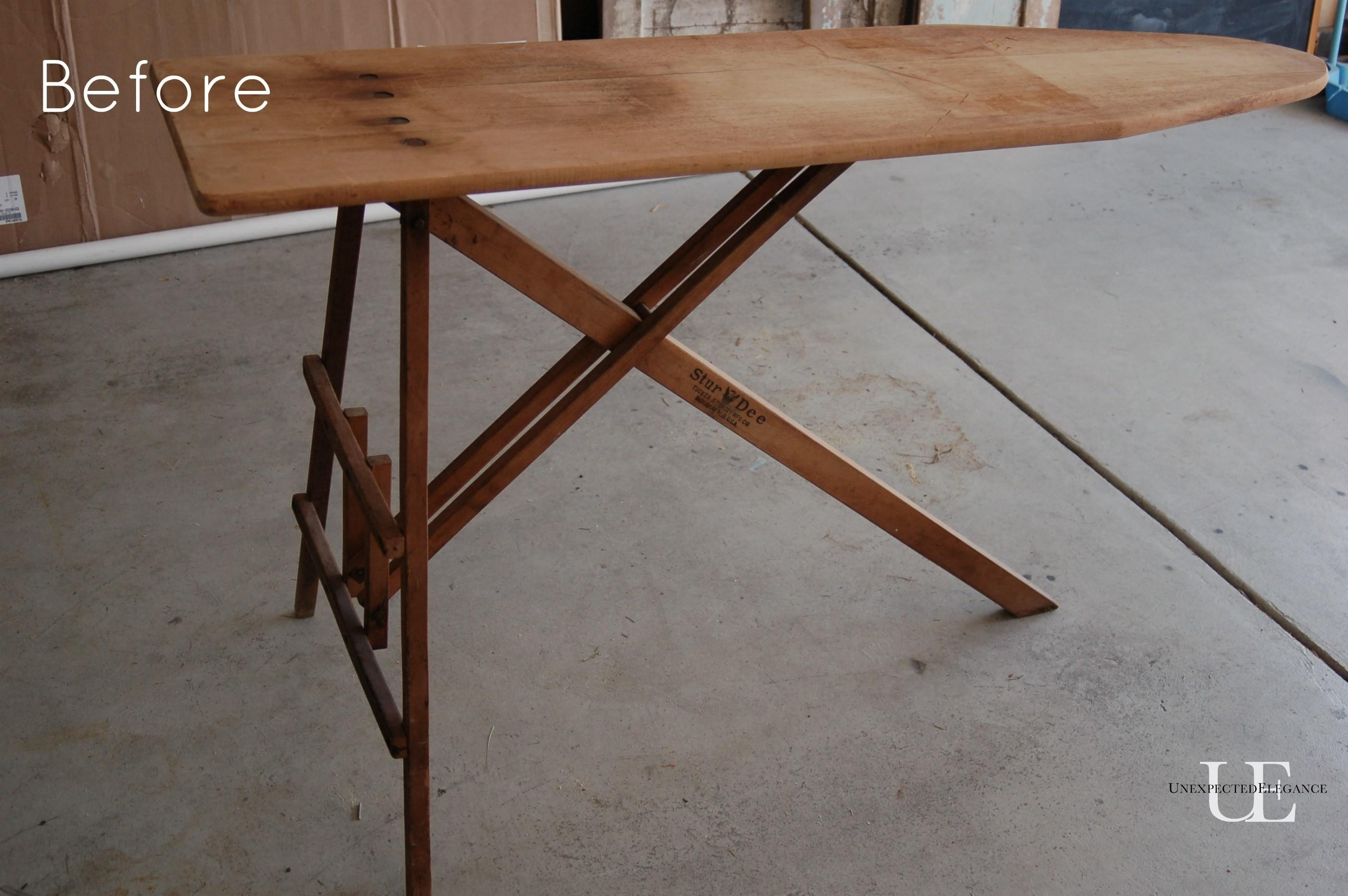 Ironing Board Sofa Table Unexpected Elegance