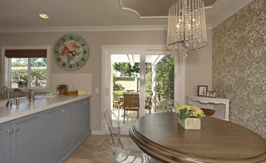 Irvine Parisian Glam Kitchen Design