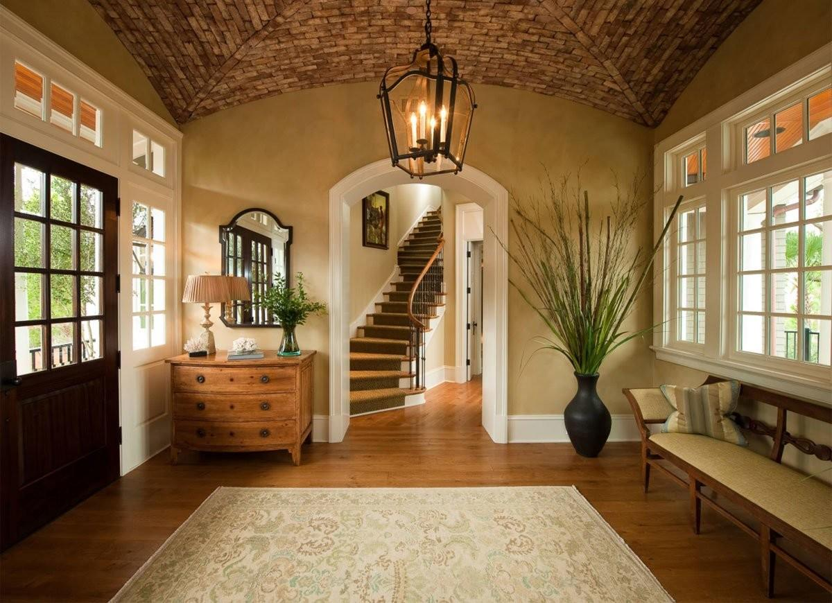 Island Inspired Entryway Front Ideas