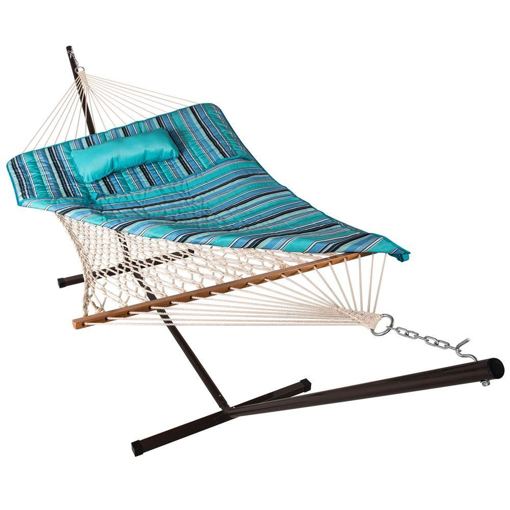 Island Umbrella Retreat Hammock Pillow Pad Set