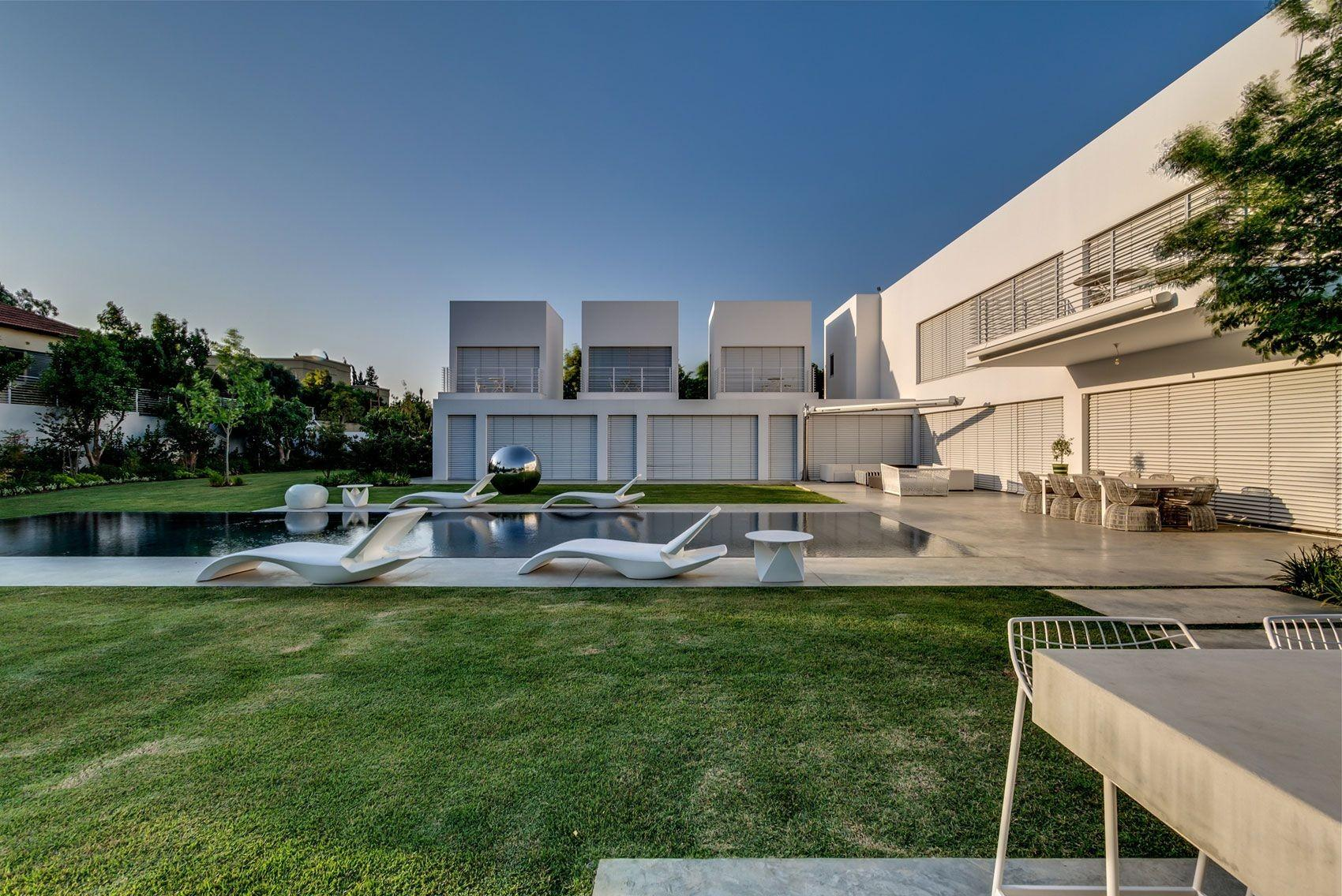 Israel Contemporary Residence Caandesign Architecture