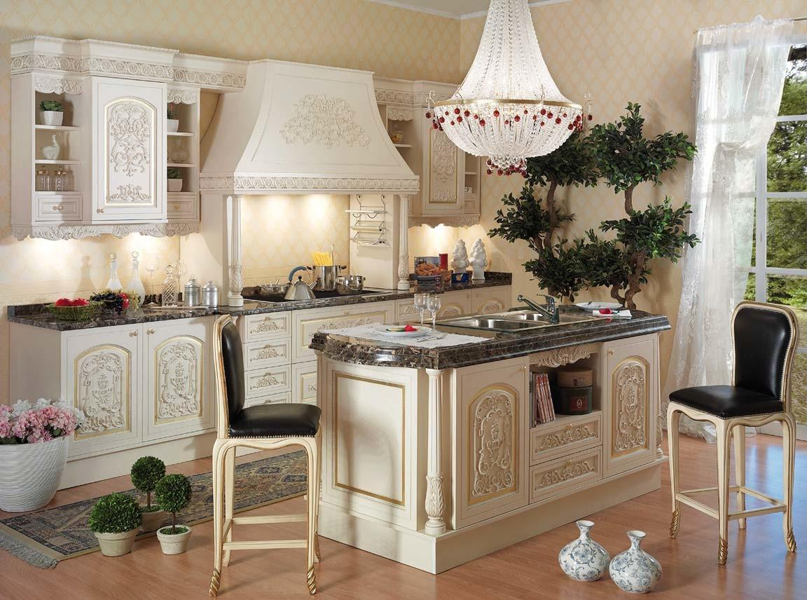 Italian Style Kitchentop Best Classic Furniture