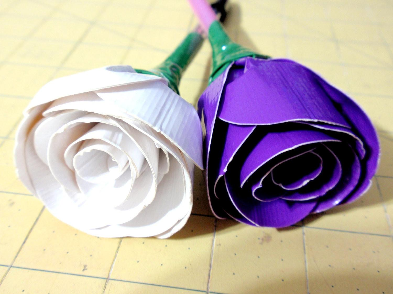 Items Similar Duck Tape Duct Flower Rose Pens Made