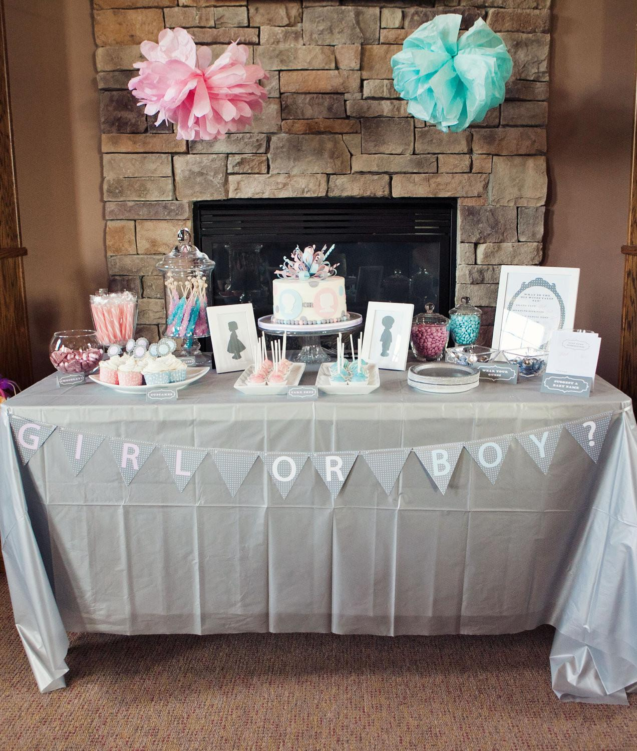 Items Similar Gender Reveal Party Matching Supplies