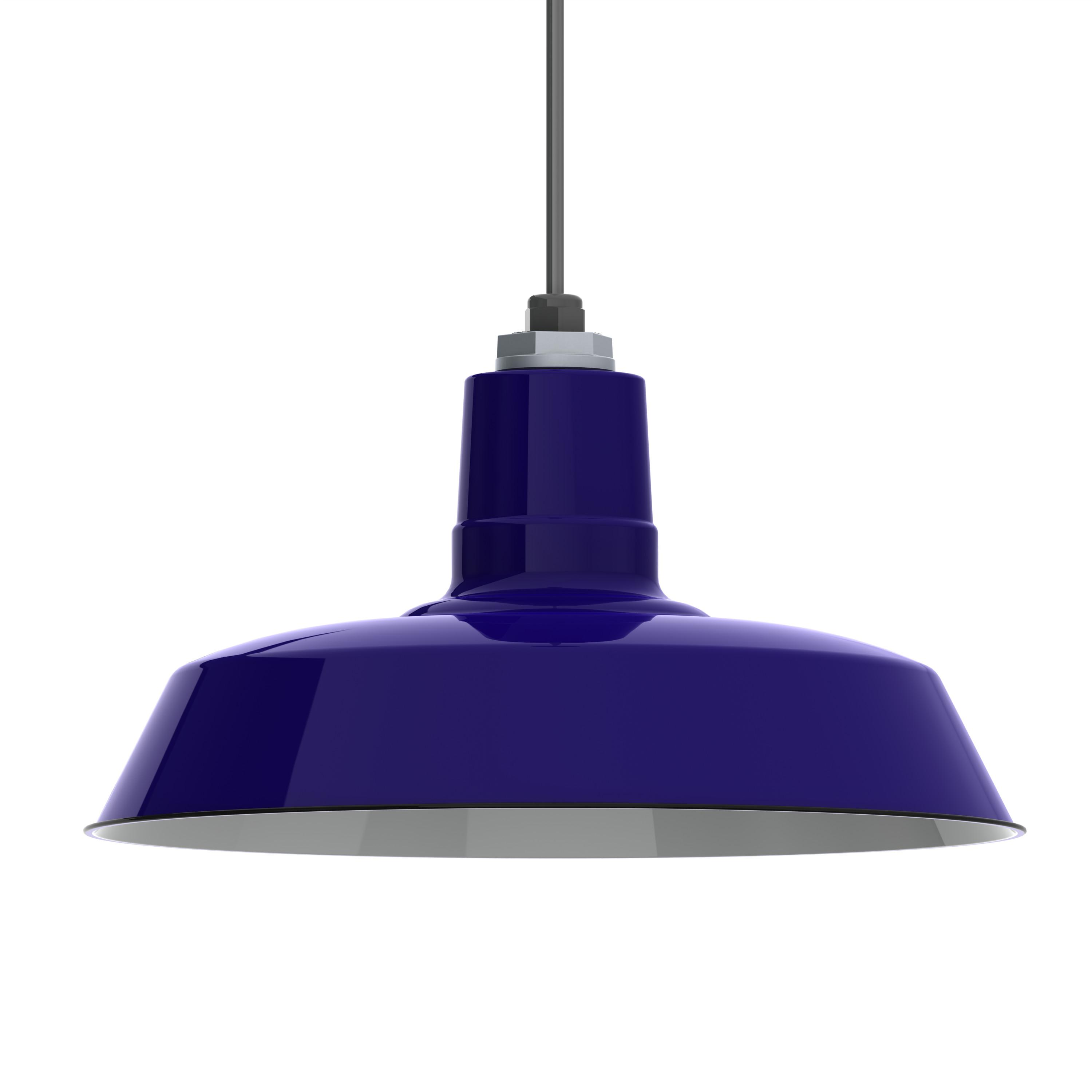 Ivanhoe Sky Chief Porcelain Enamel Pendant Barn Light