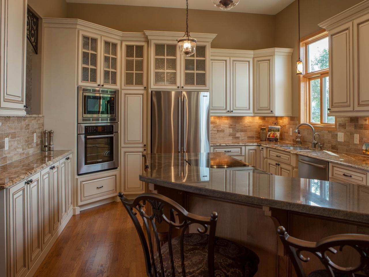 Ivory Kitchen Cabinets Tuscan Italian Traditional