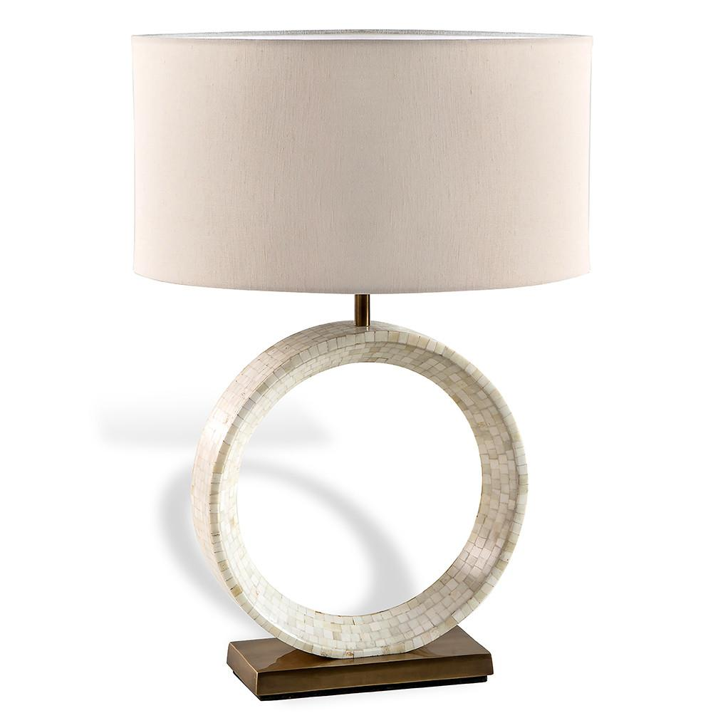 Ivory Ring Table Lamp Luxe Home Company