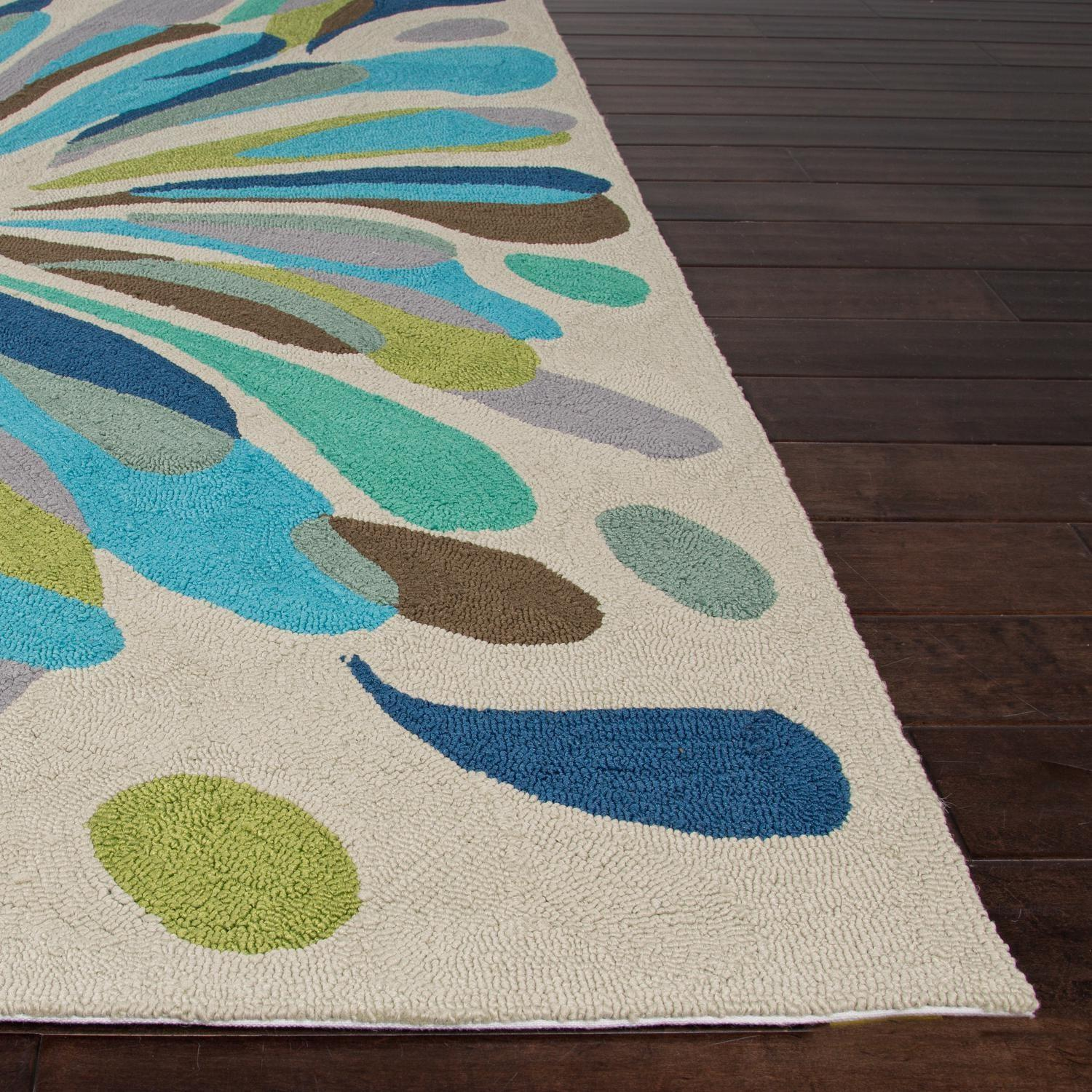 Jaipur Rugs Colours Flowerburst Indoor Outdoor Rug