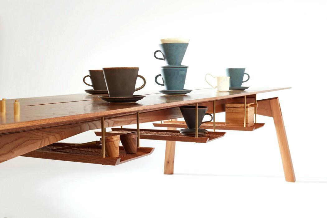 Japanese Coffee Table Ceremony Furniture