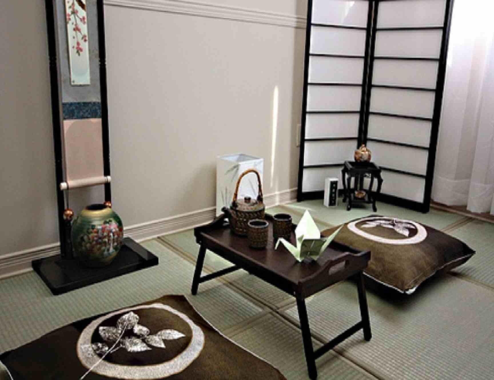 Japanese Inspired Living Room Design Decosee