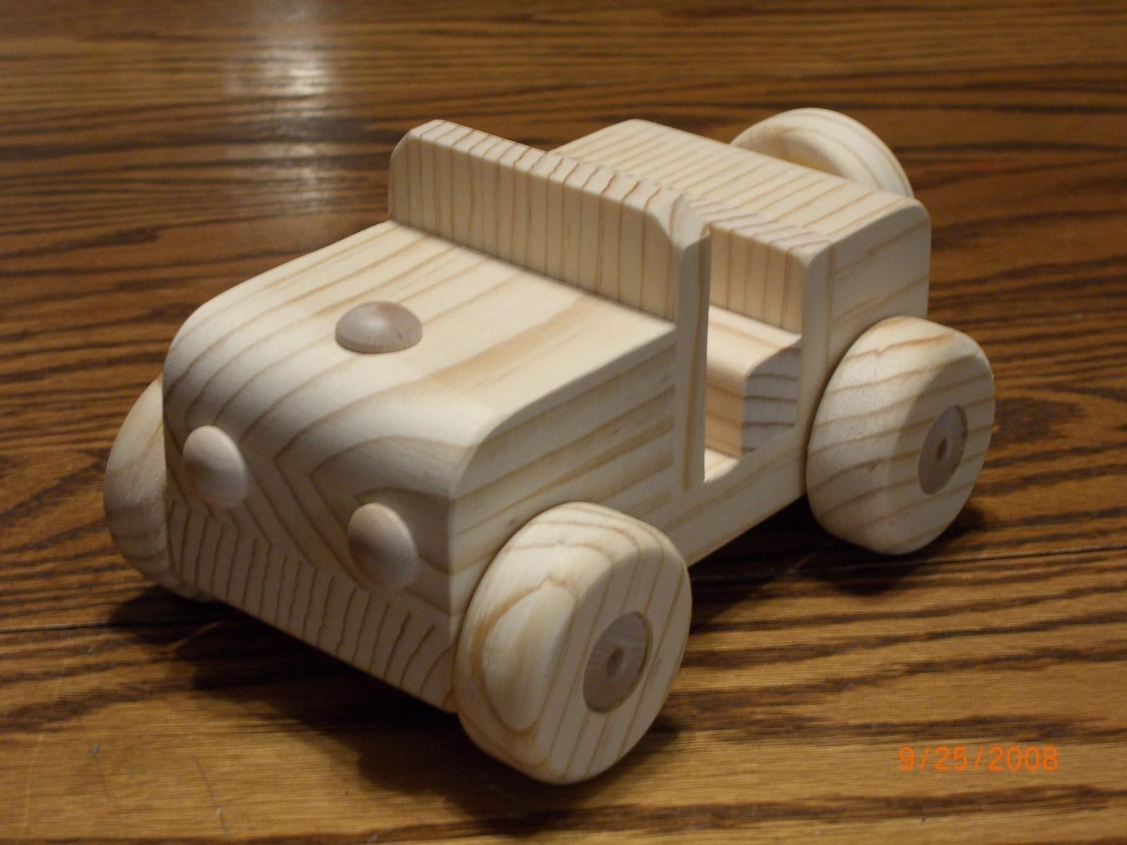Jeep All Natural Wooden Toy Waldorf Mikebtoys Etsy
