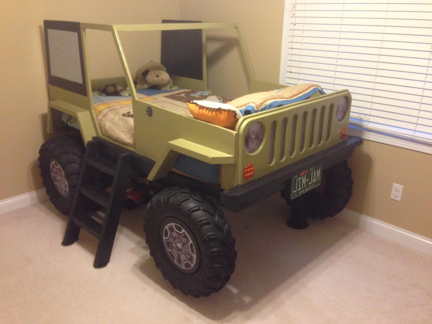 Jeep Bed Plans Twin Car