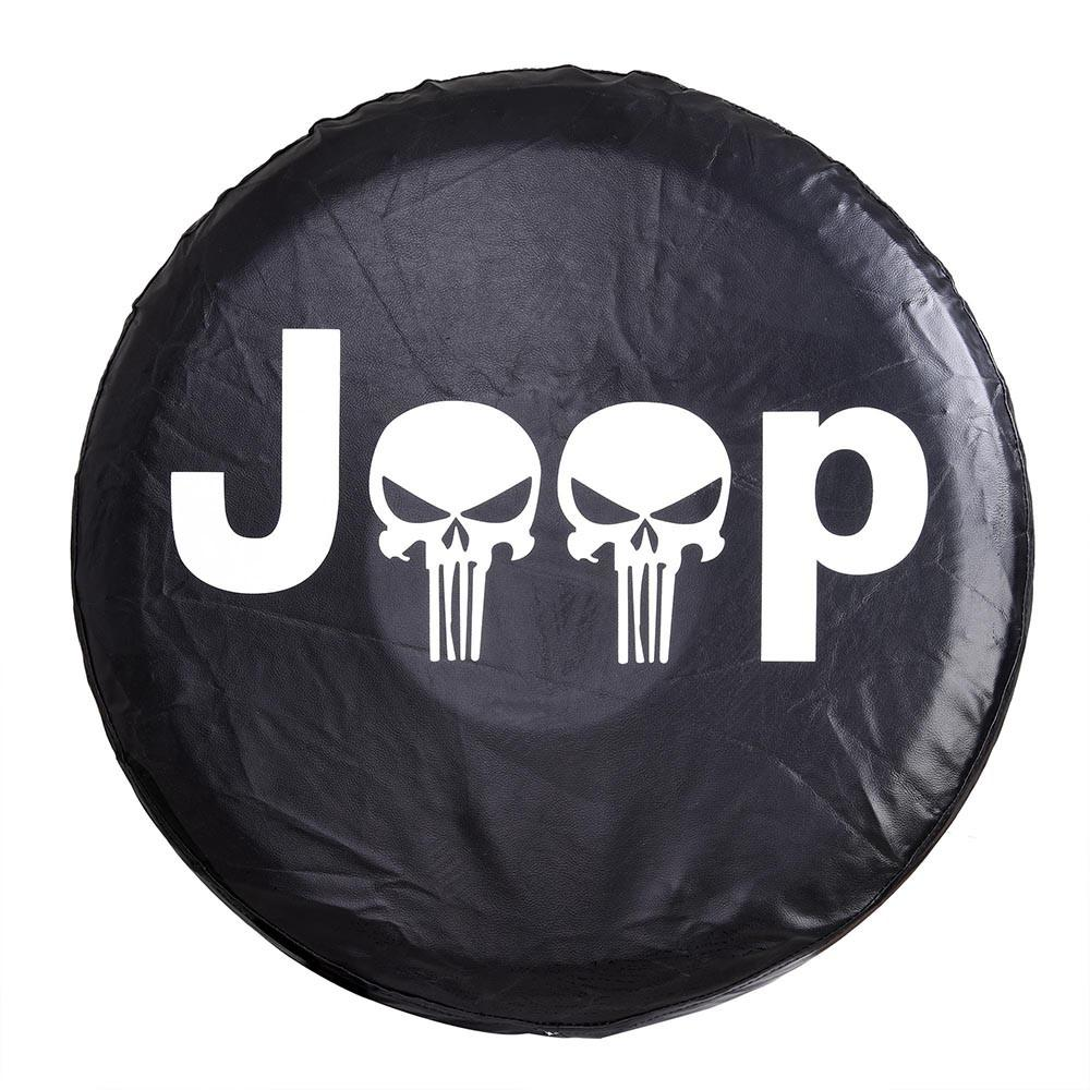 Jeep Wrangler Spare Tire Wheel Soft Cover Case Protector
