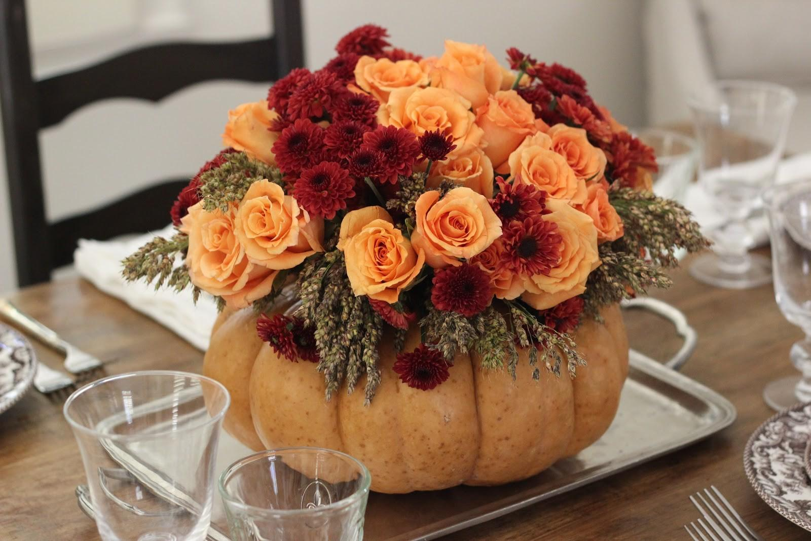 Jenny Steffens Hobick Diy Thanksgiving Centerpiece