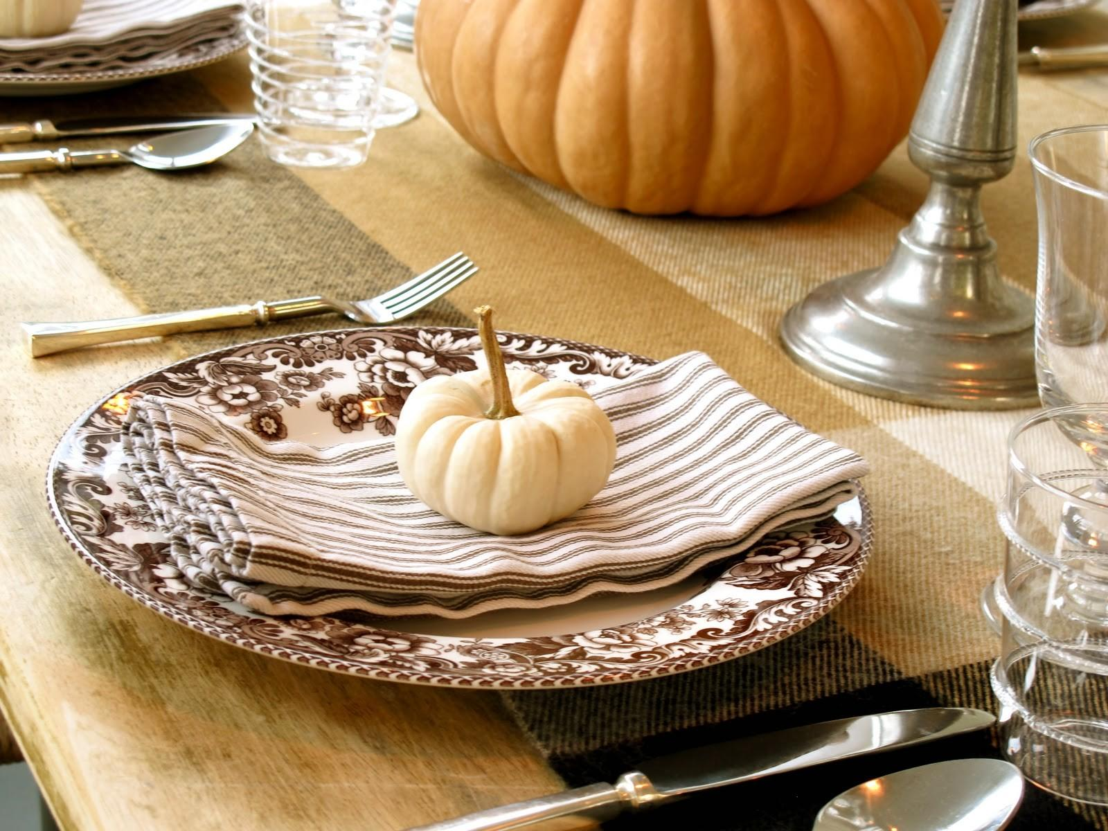 Jenny Steffens Hobick Fall Table Setting