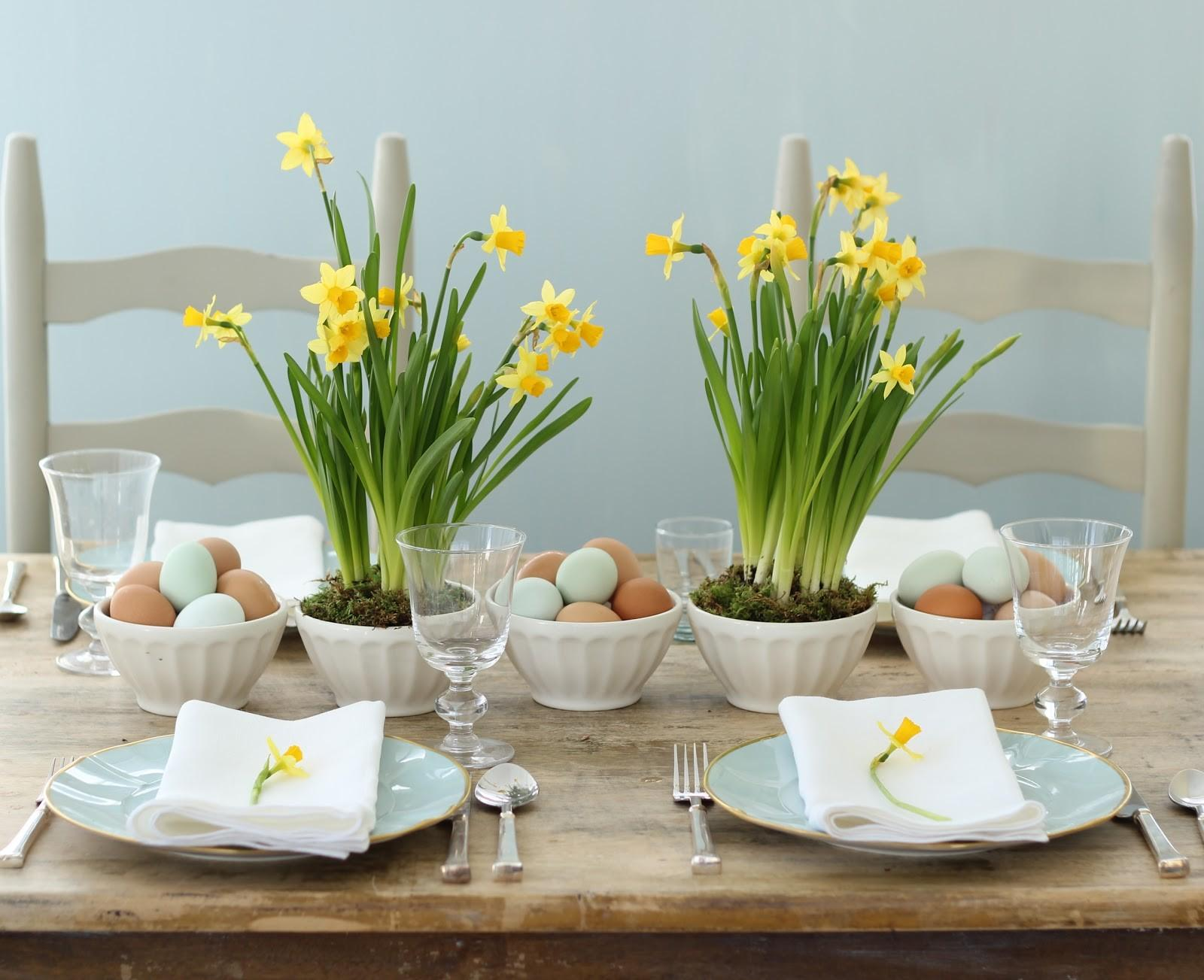 Jenny Steffens Hobick Spring Easter Centerpieces