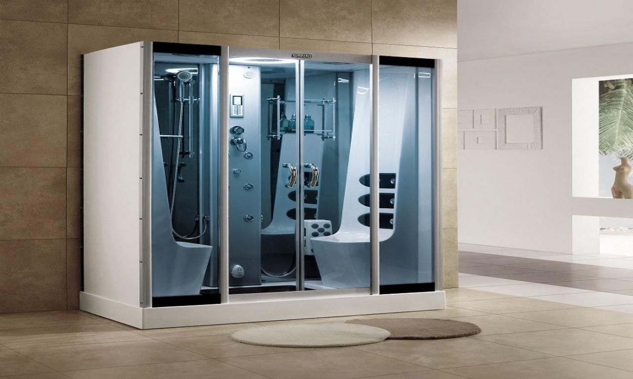 Jetted Soaking Tubs Luxury Steam Shower