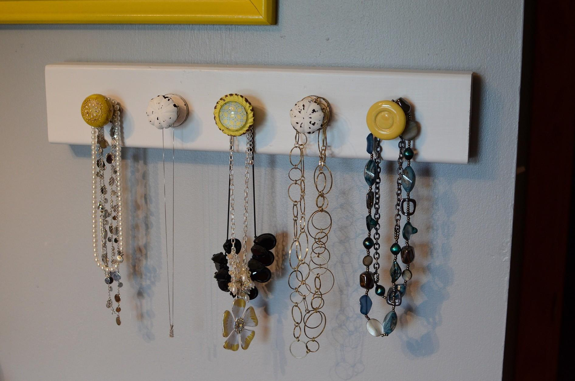 Jewelry Organizer Diy Fun Tips Hanging Jewels
