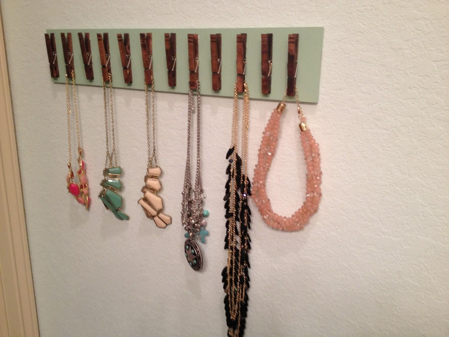 Jewelry Organizer Diy Organize Your Jewelries