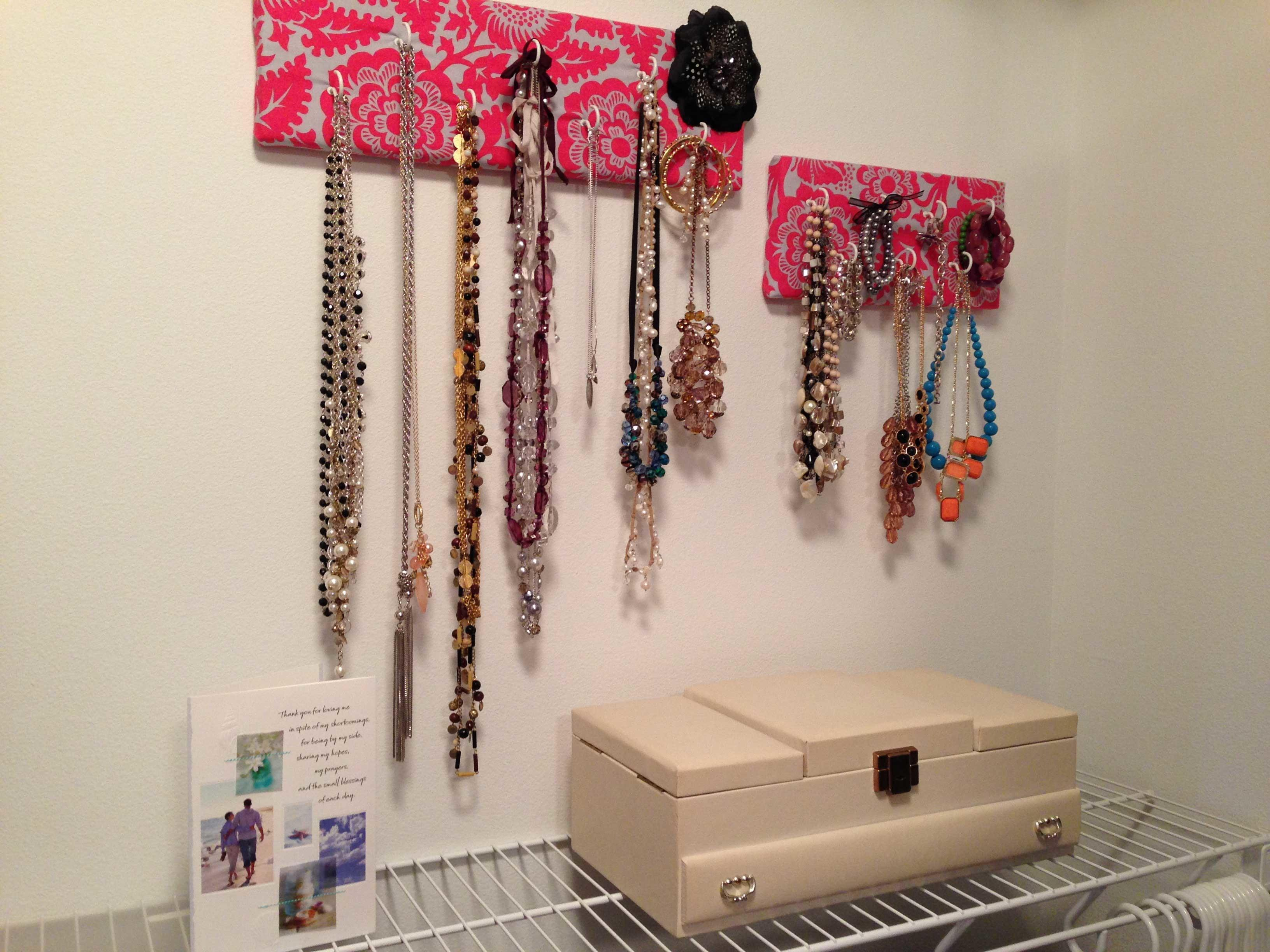 Jewelry Storage Ideas Closet