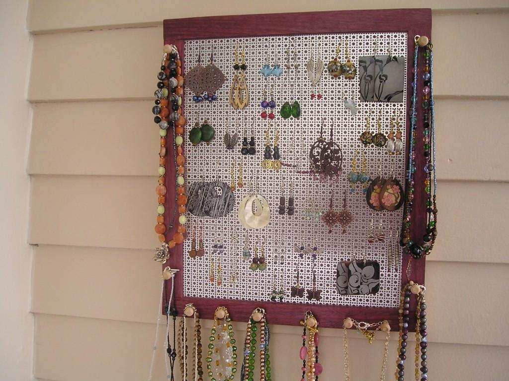 Jewelry Storage Ideas Diy Necklaces Pendants