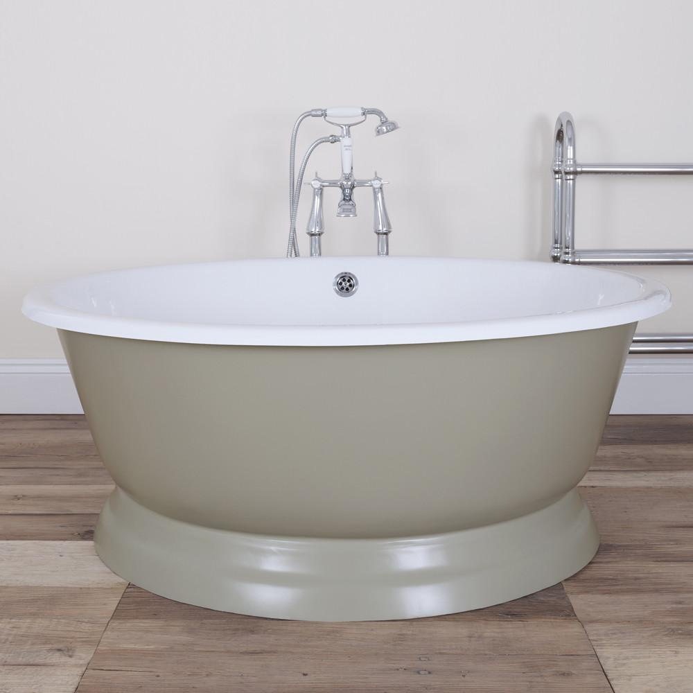 Jig Drum Round Cast Iron Bath Colour Options Now