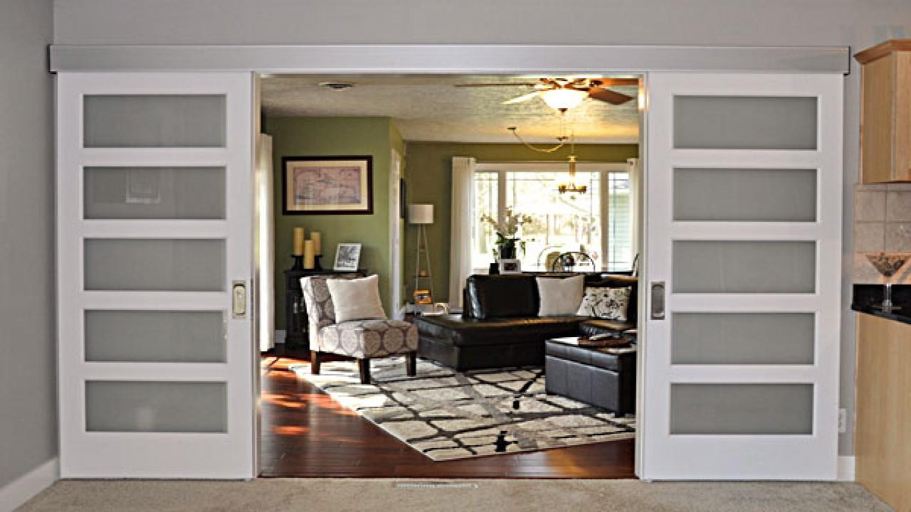 Johnson Barn Door Track Small Living Room Interior Design