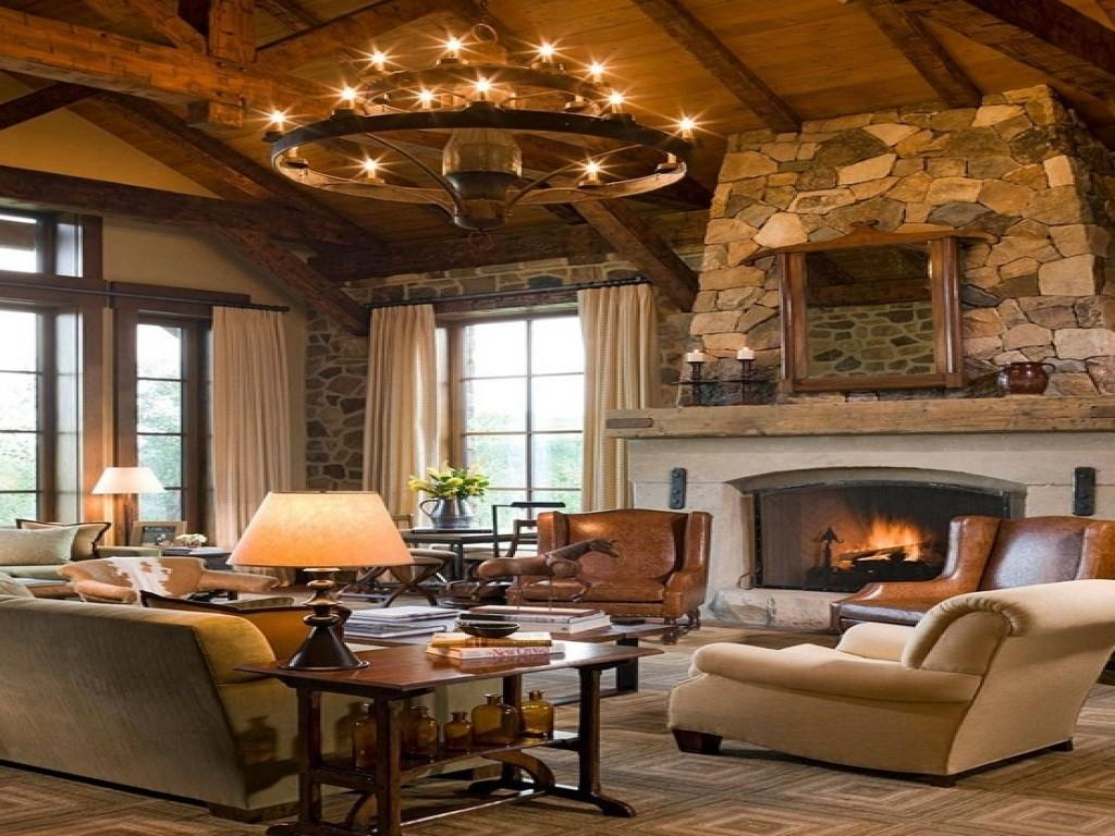 Jolly Styles Refined Rustic Living Rooms