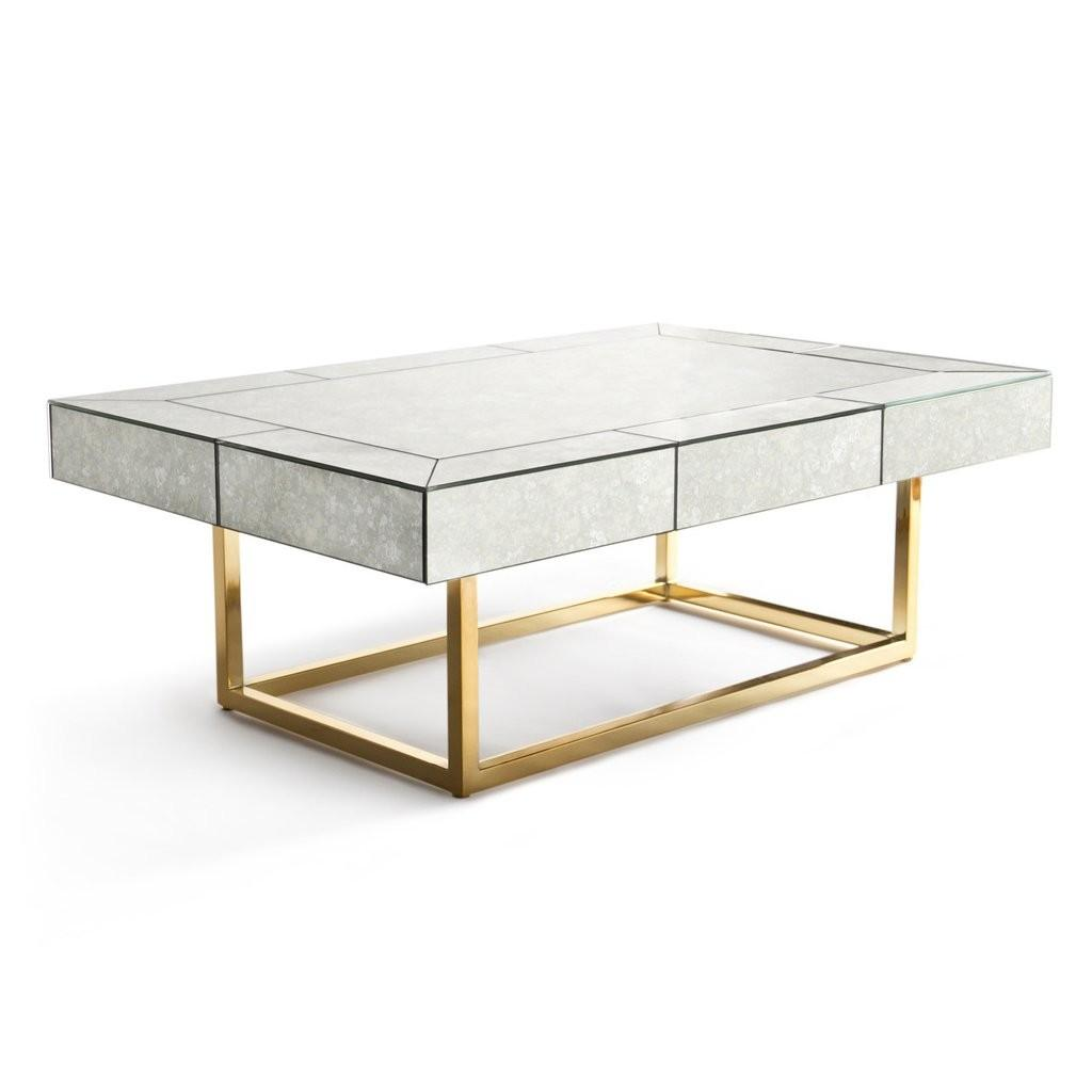 Jonathan Adler Delphine Mirrored Cocktail Table