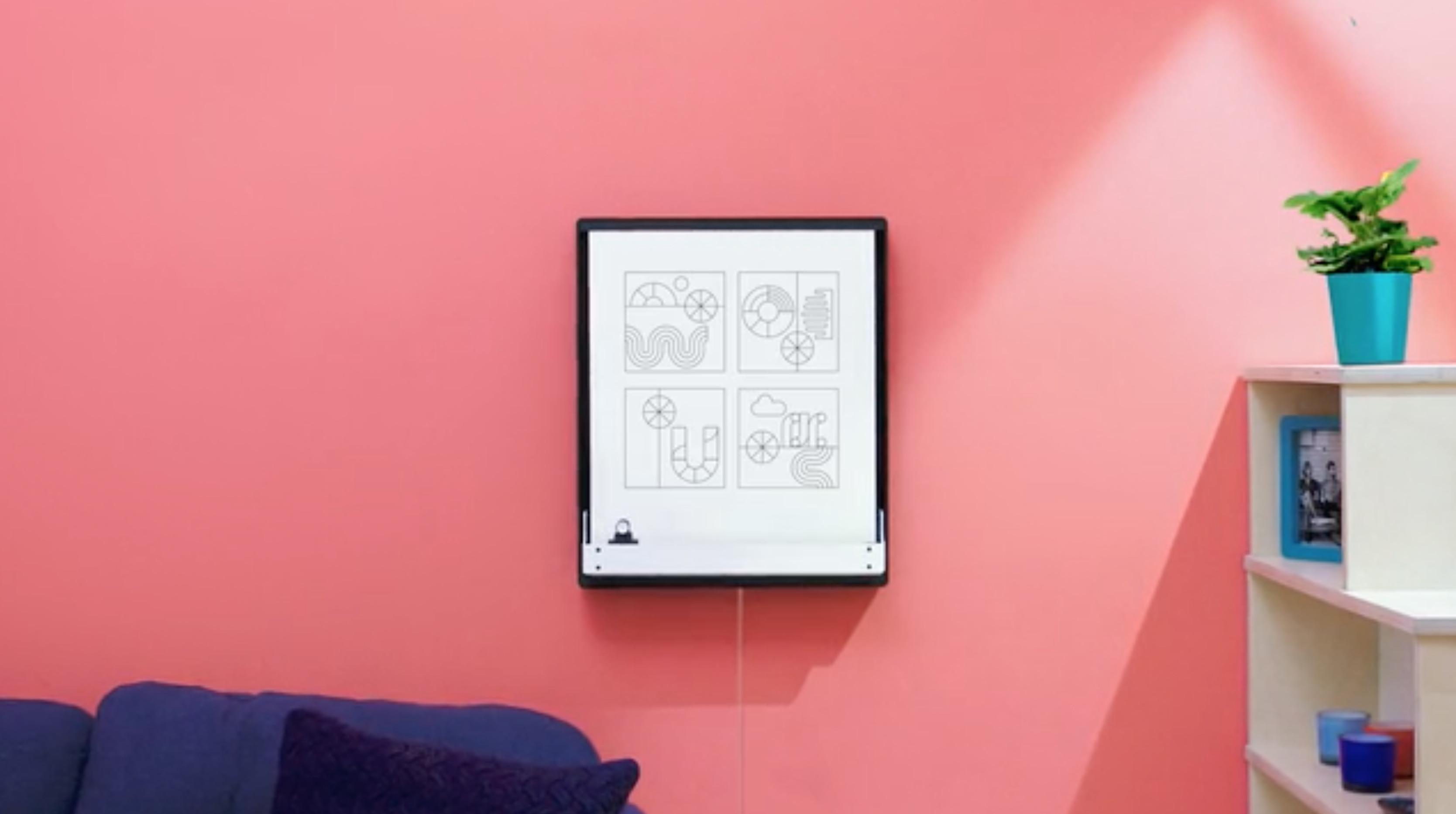 Joto Robotic Whiteboard Can Draw Your Tweets