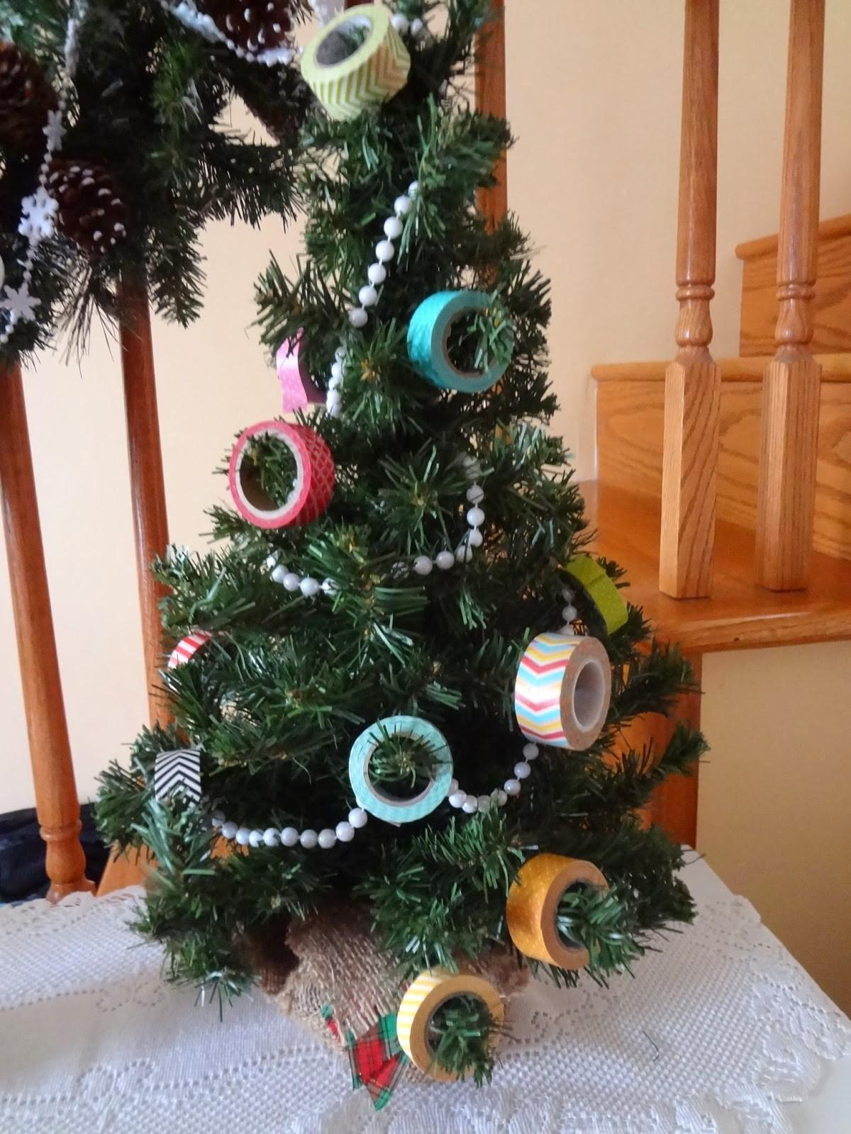 Joy Scrapping Washi Tape Christmas Tree