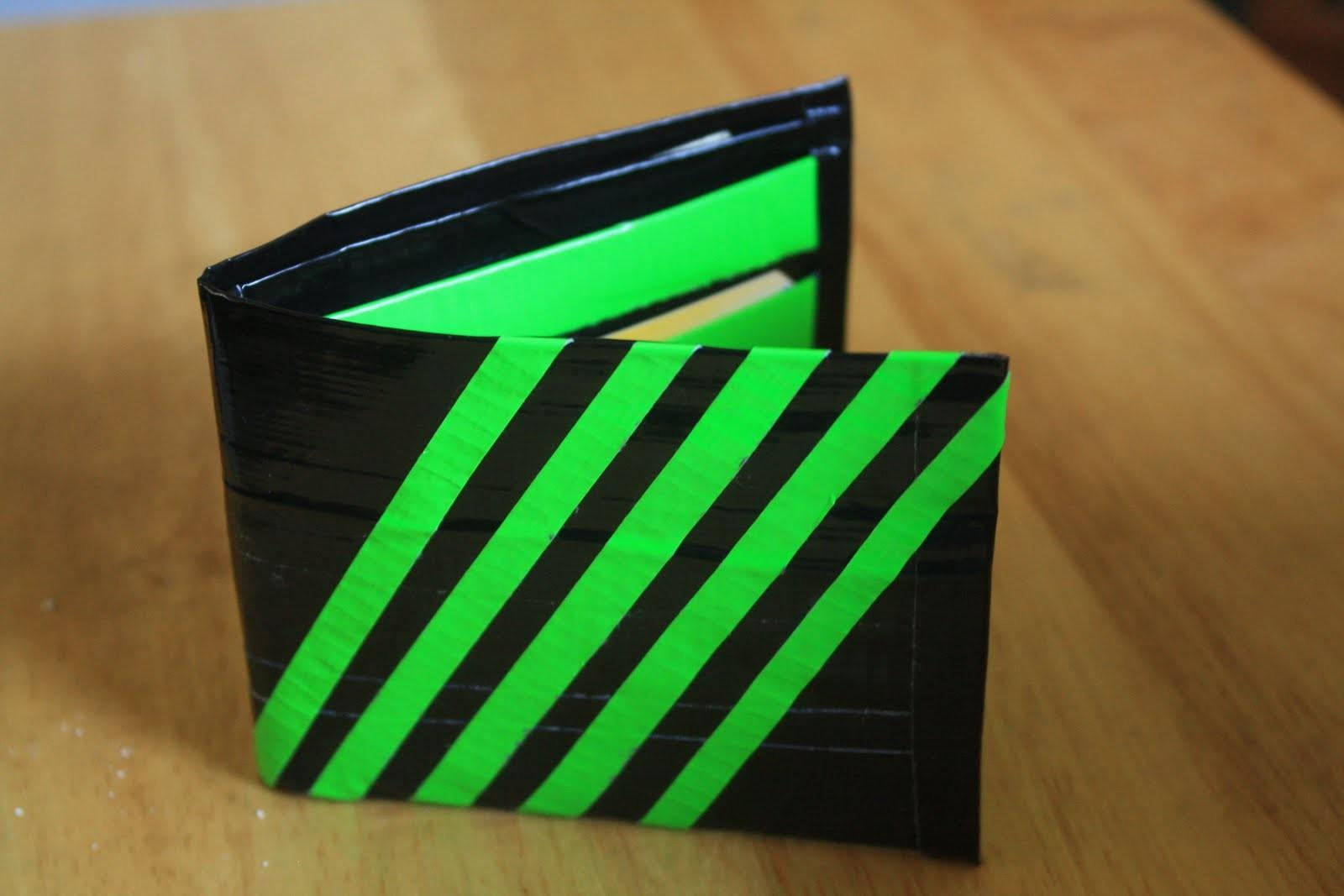 Joyfulgirl Makes Crafts Duct Tape Wallet