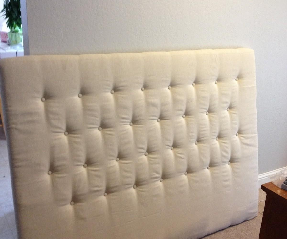 Joyous Diy Tufted Headboards Easy Also Any Bedroom