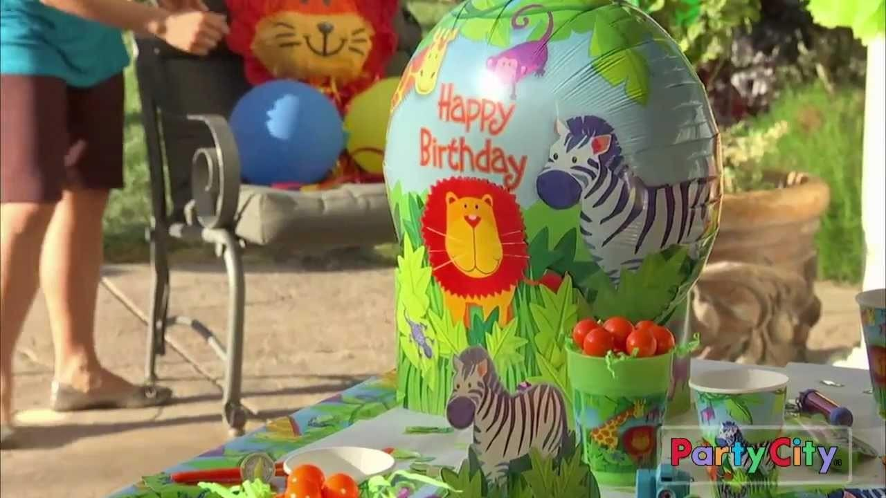 Jungle Animals Party Ideas