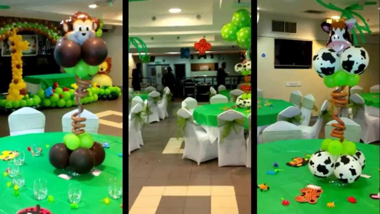 Jungle Theme Balloon Decoration