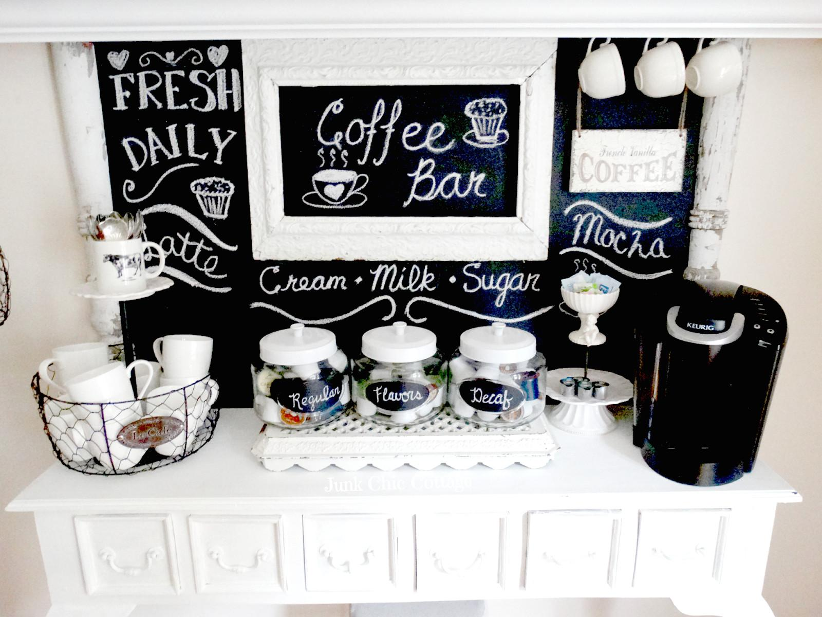 Junk Chic Cottage Coffee Anyone