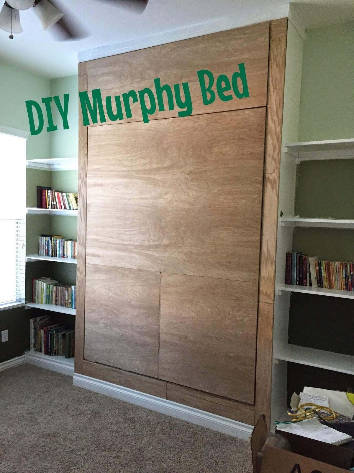 Junk Their Trunk Diy Murphy Bed Wall