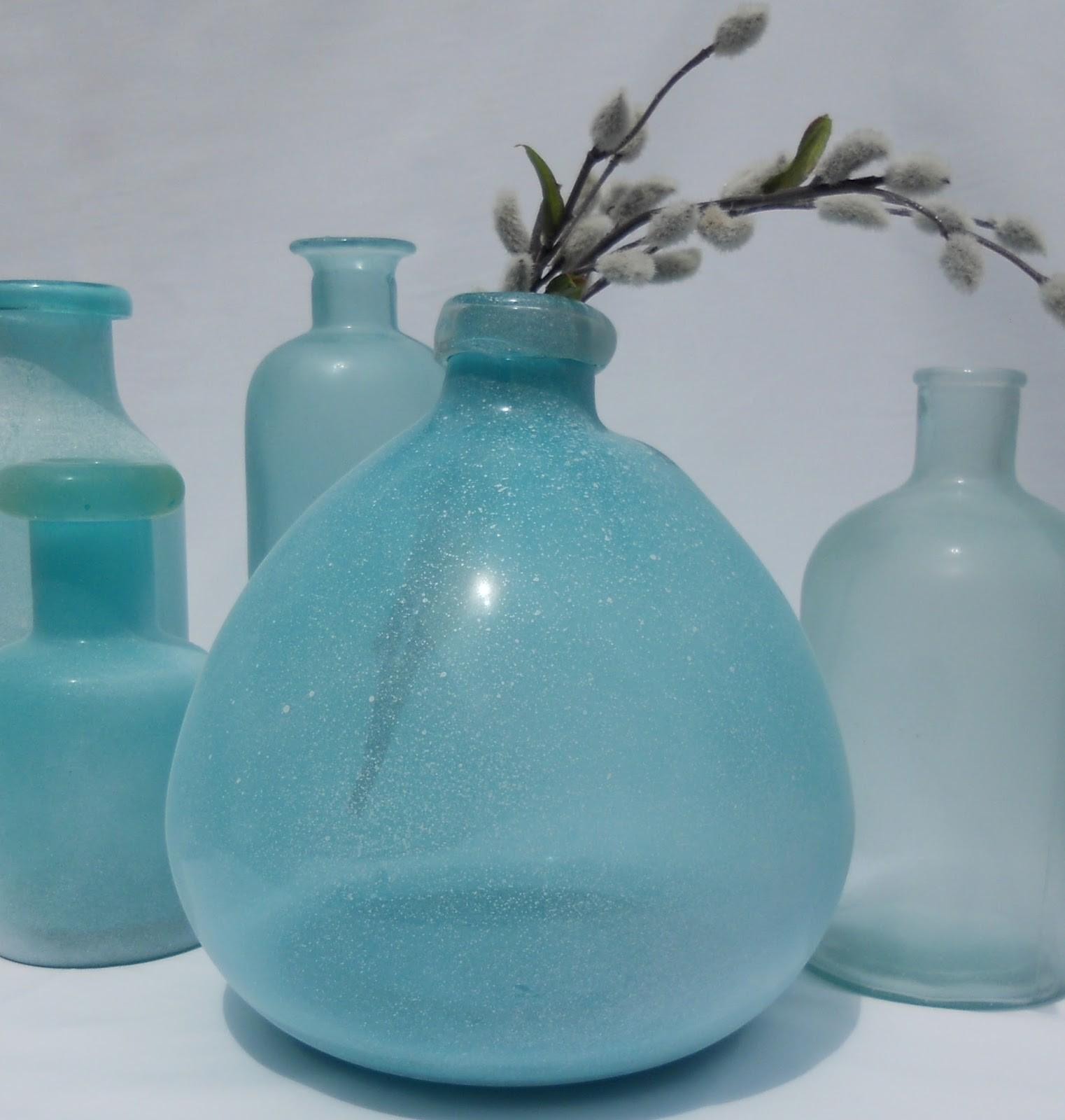 Just Another Hang Diy Sea Glass Vases