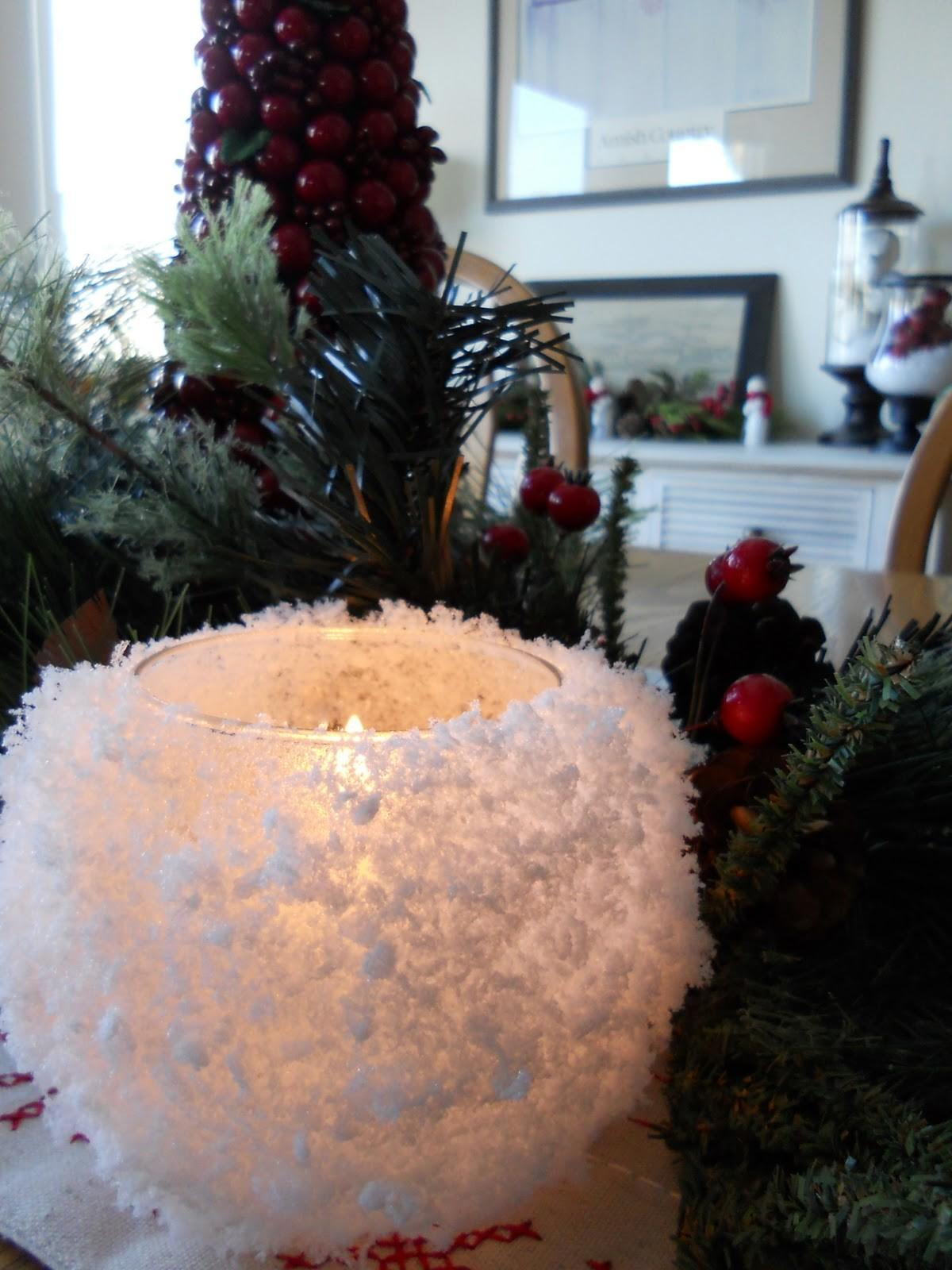 Just Another Hang Snowball Votive Candle Holders