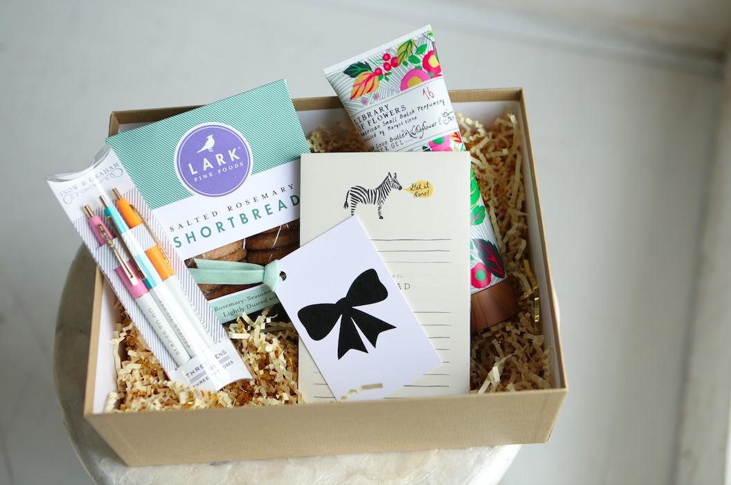 Just Because Gift Her Thanksgiving Basket