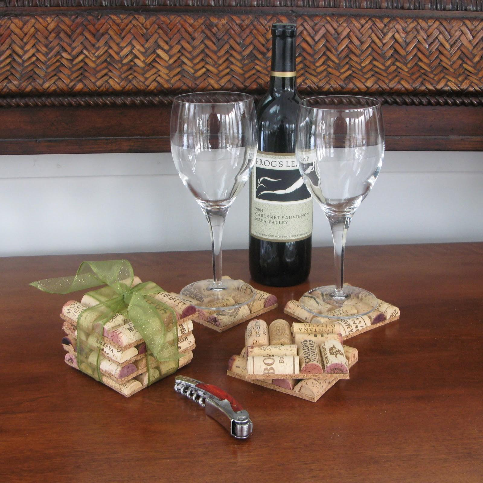 Just Grand Cork Coasters Diy Project