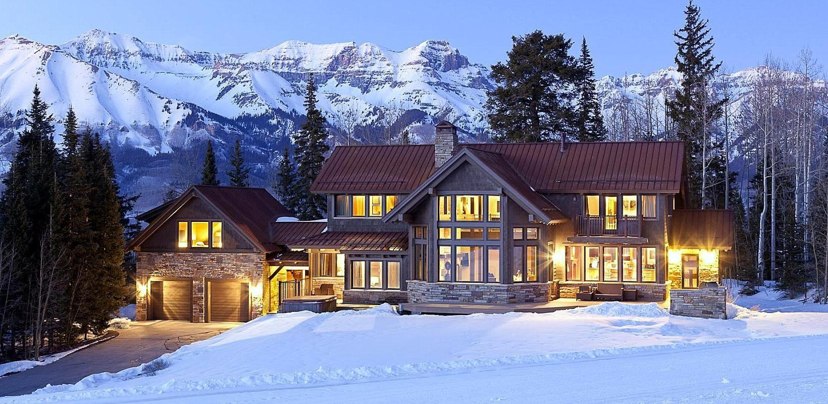 Just Listed Spectacular Ski Out Style