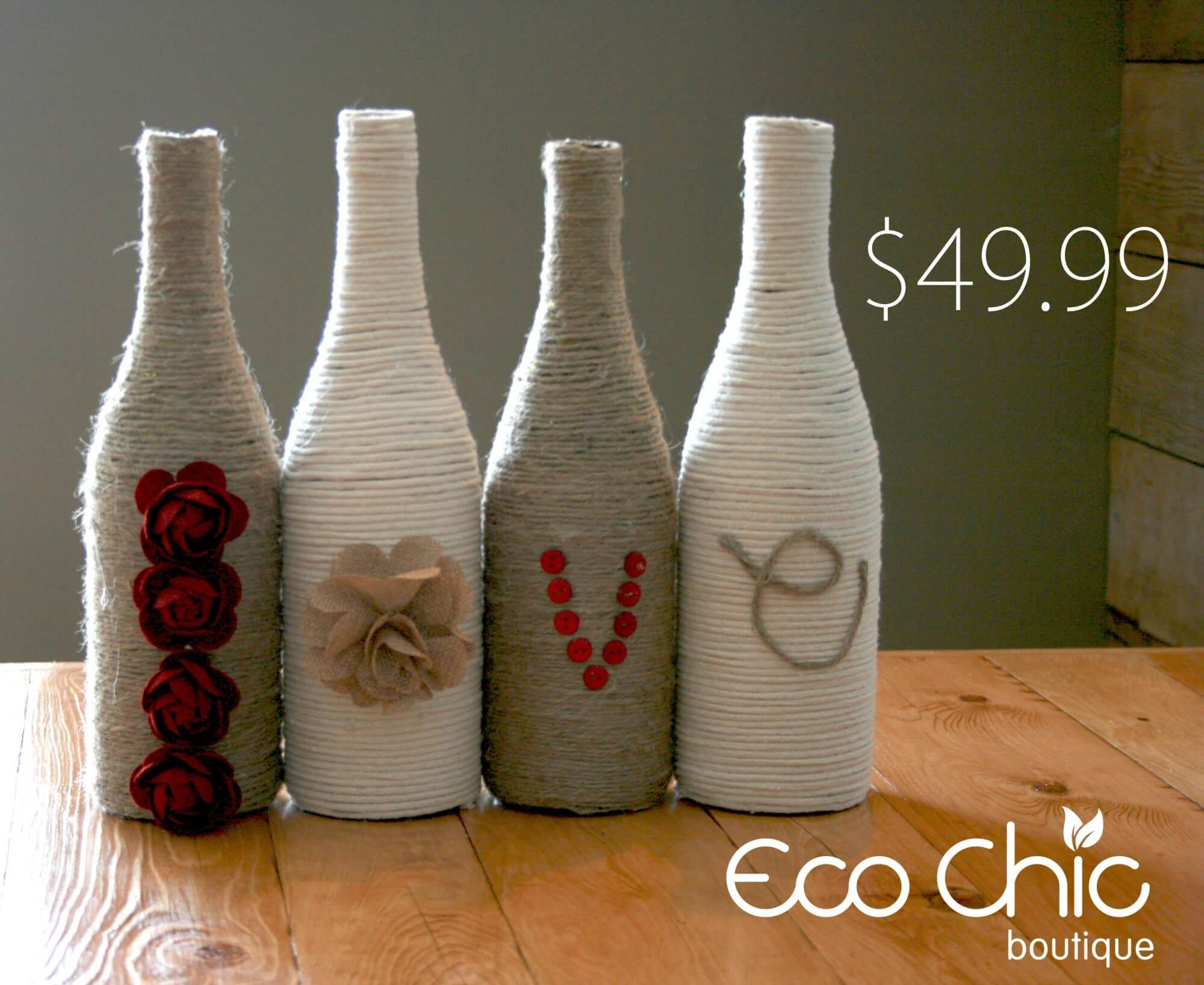 Jute Wrapped Vase Diy Ecochic
