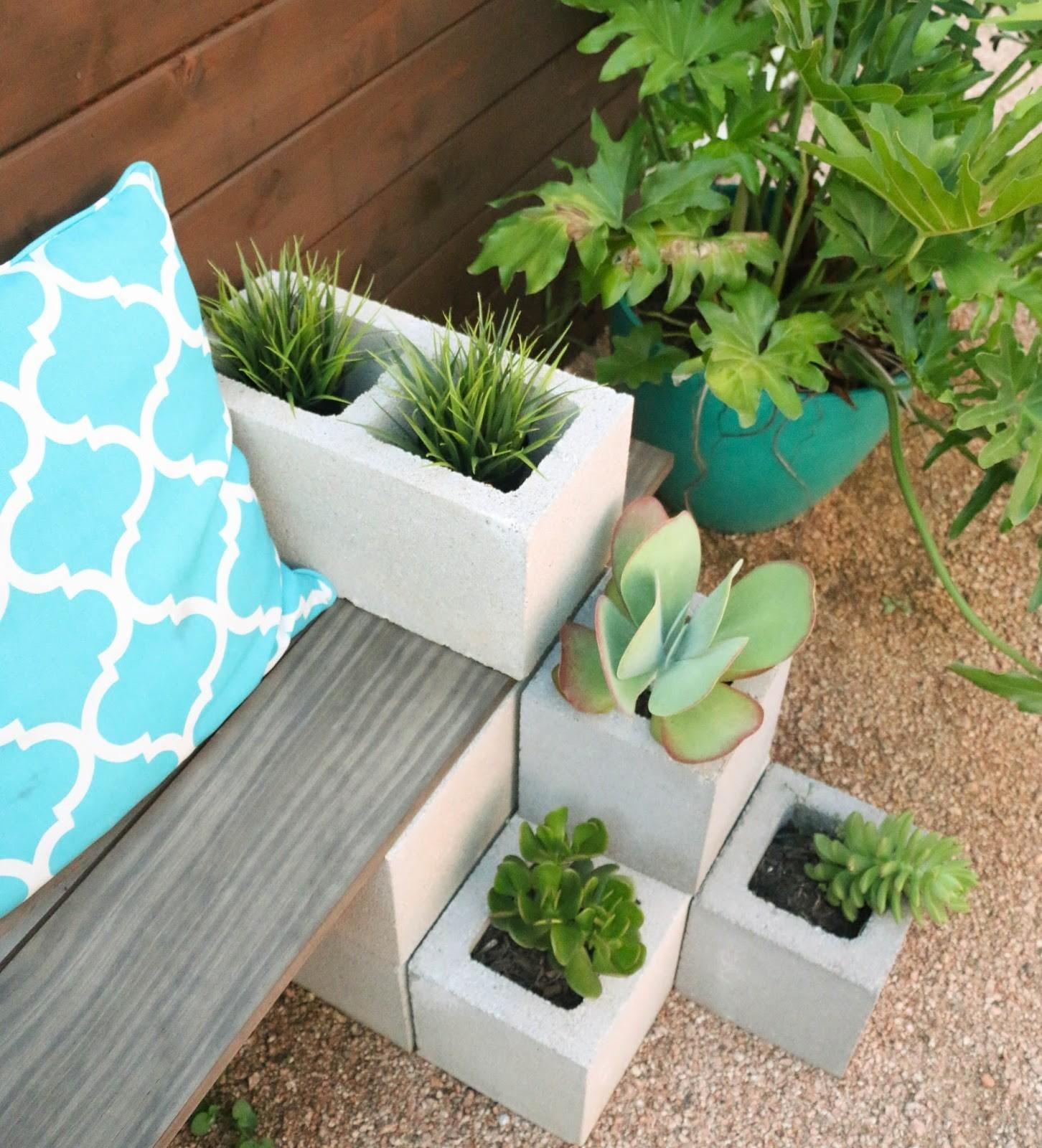 Kailo Chic Life Diy Outdoor Succulent Bench