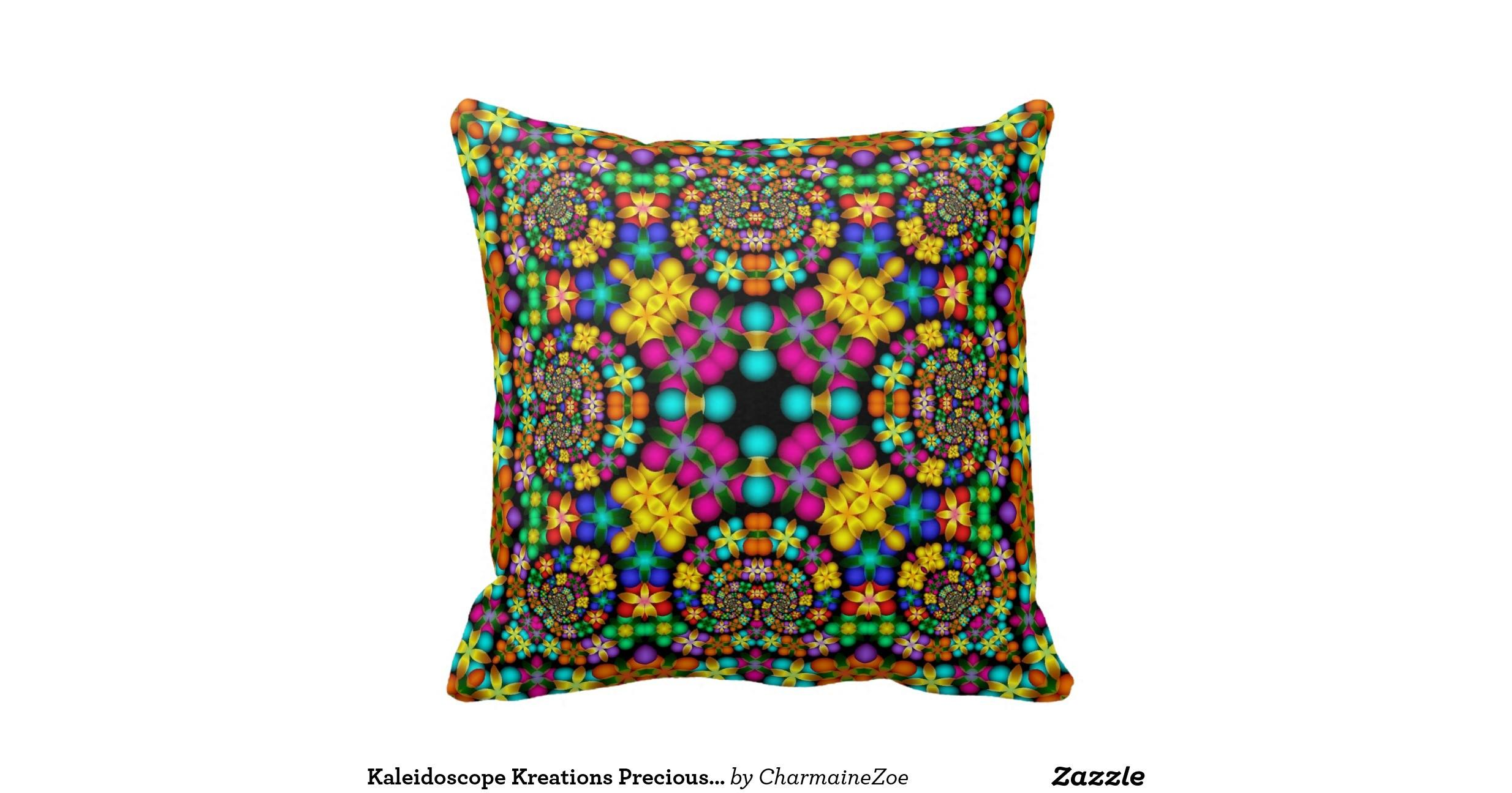 Kaleidoscope Kreations Precious Petals Pillow Throw
